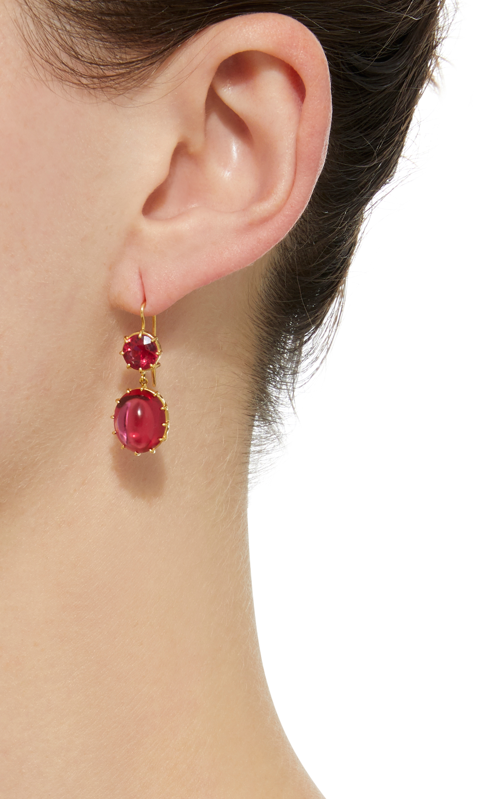 free products ruby lustre earrings urer form jewellery