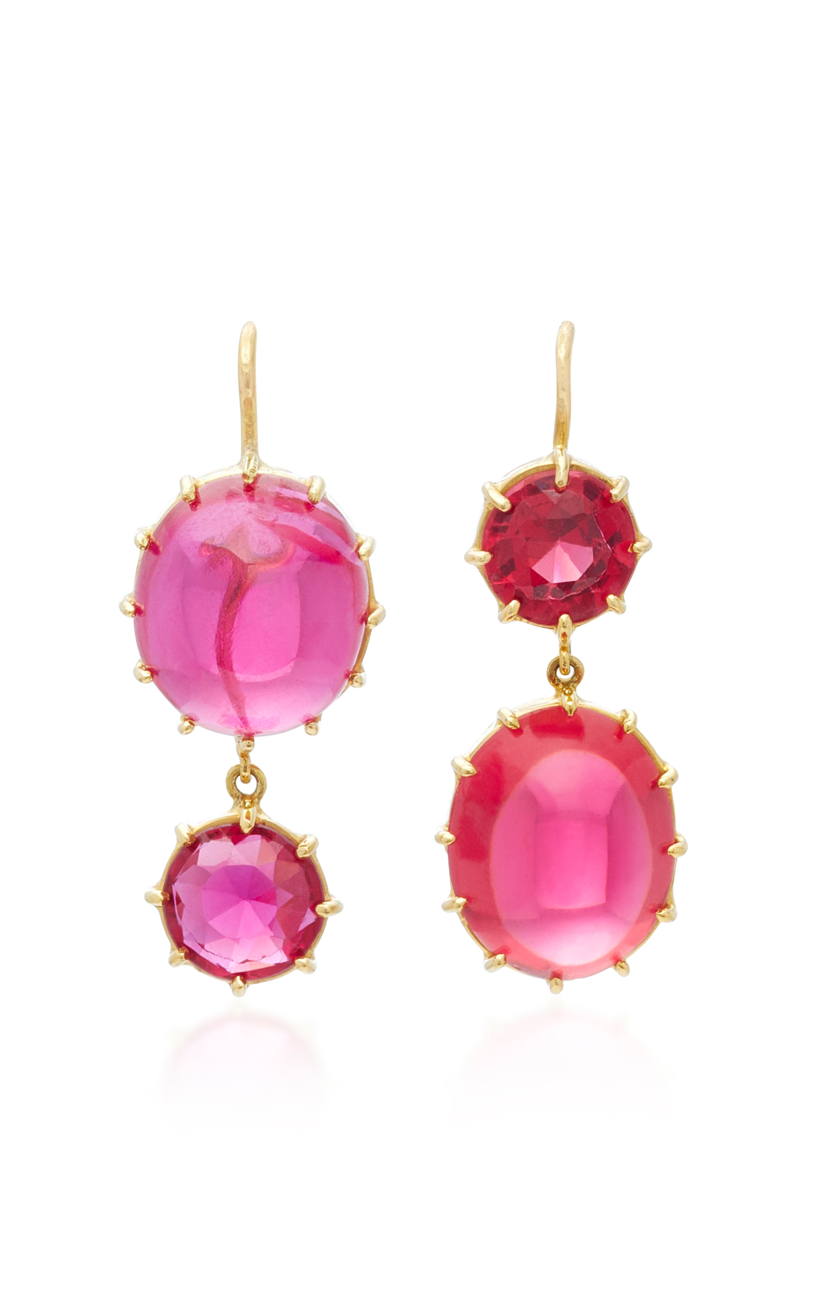 collections diamond jewellery dc d degem ruby colours earrings blood of pigeon