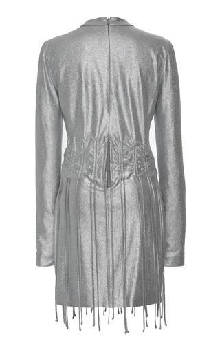 bedccf4f0a54 Ended · Sally LaPointeMetallic Drawstring Mini Dress