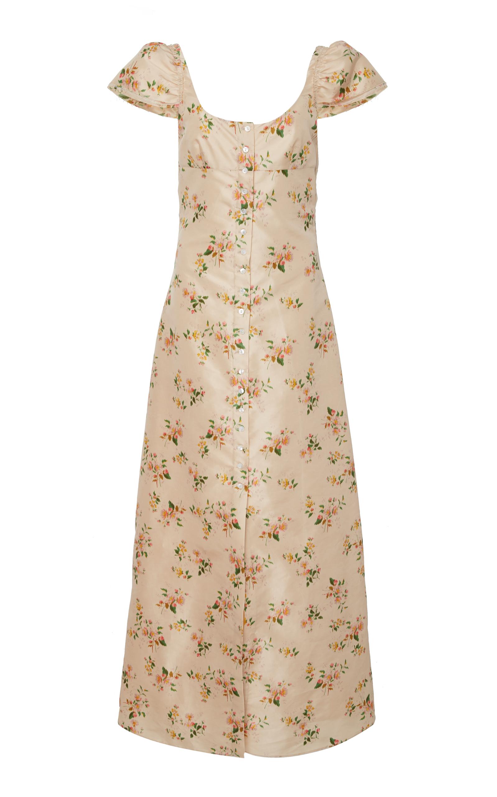 Womens Striped Open-Back Dress Brock Collection yggDnS8sJ