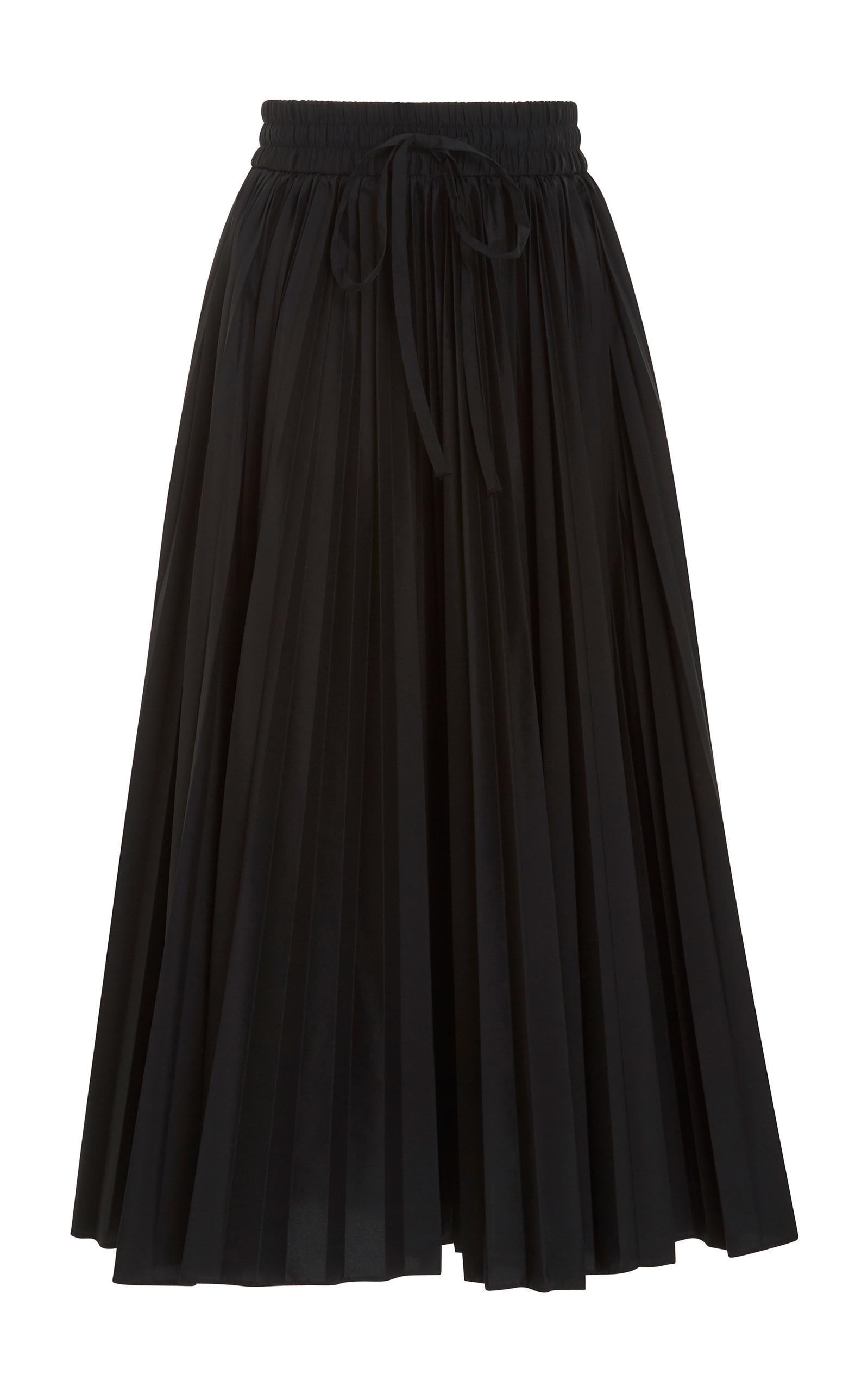a1d864204f Pleated Midi Skirt by Red Valentino   Moda Operandi