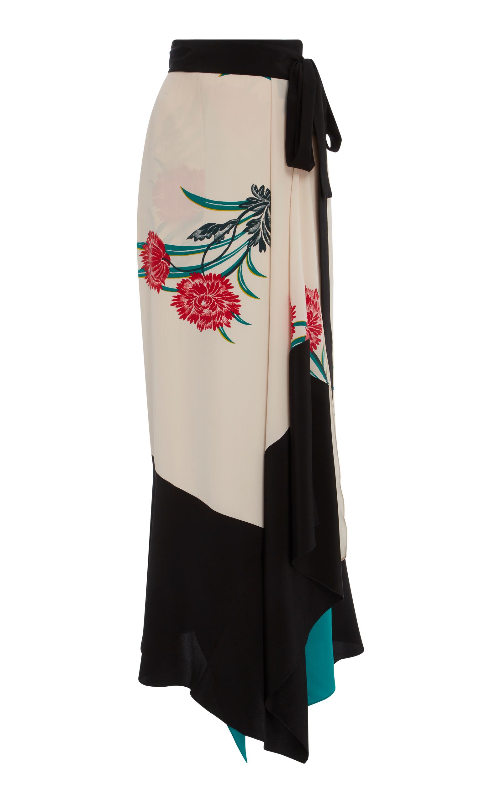c4f96dd6e2 Draped Wrap Midi Skirt by Diane von Furstenberg | Moda Operandi