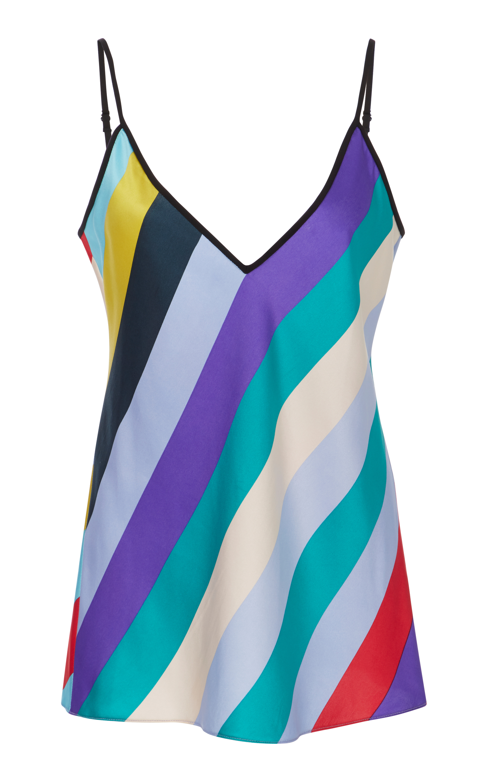 Striped cami top Diane Von Fürstenberg Clearance Online Cheap Real 2CQn1Evc1y