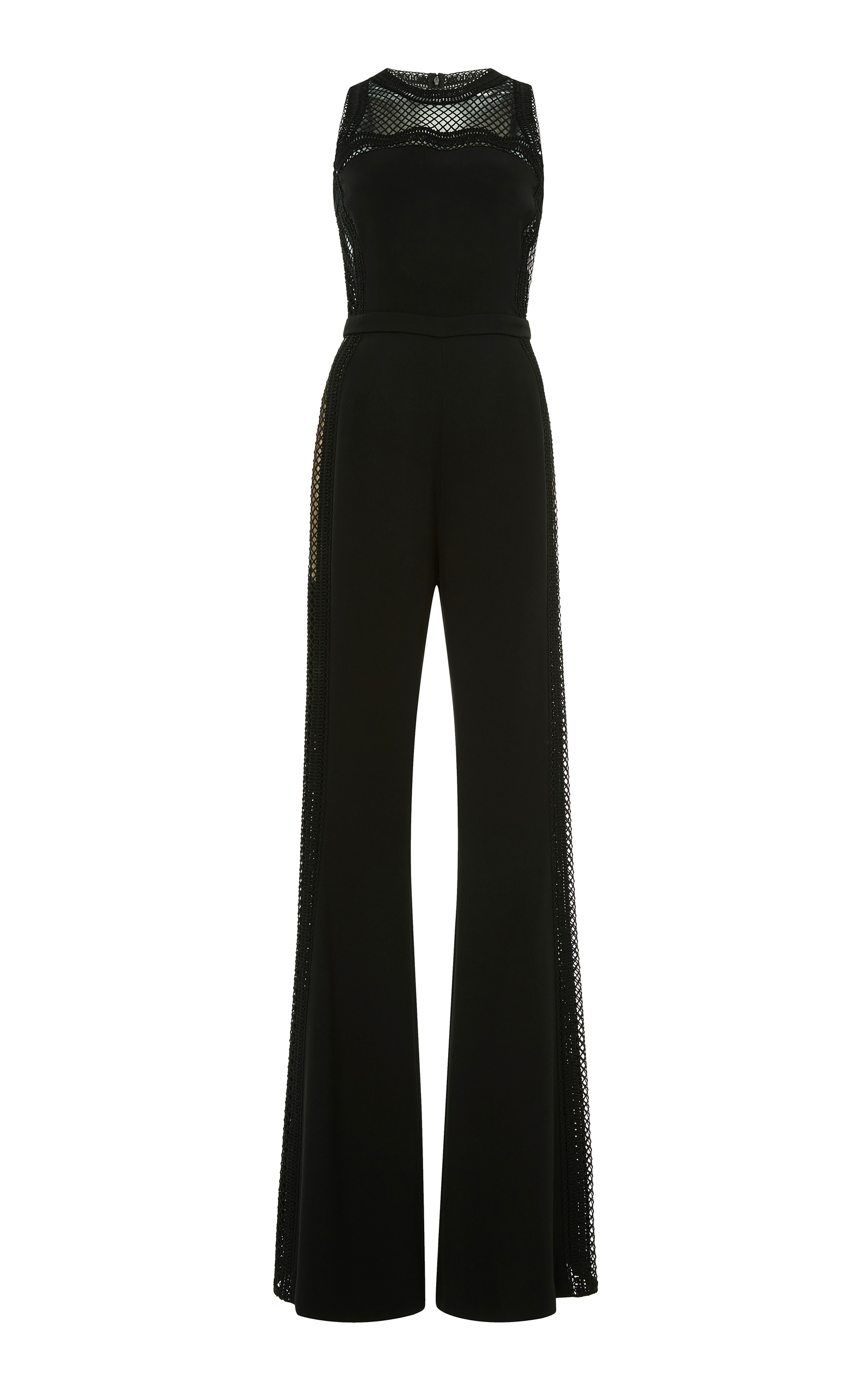 Elie Saab macrame jumpsuit Discount Really Explore Clearance Really Cheap Looking For P2jPP1