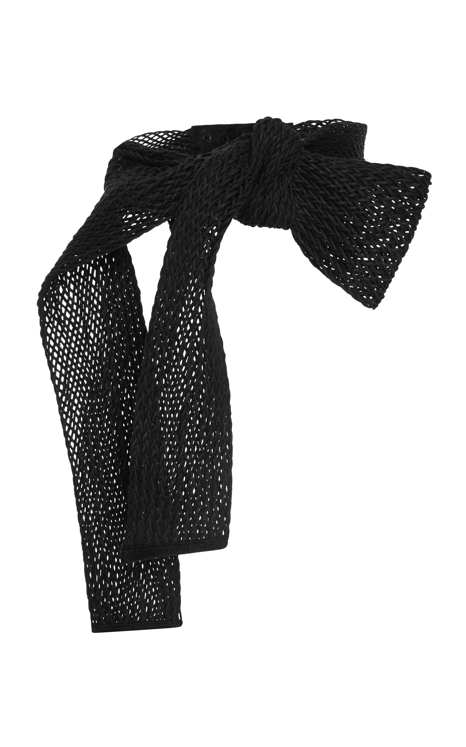 Mezcal knit belt by Johanna Ortiz | Moda Operandi