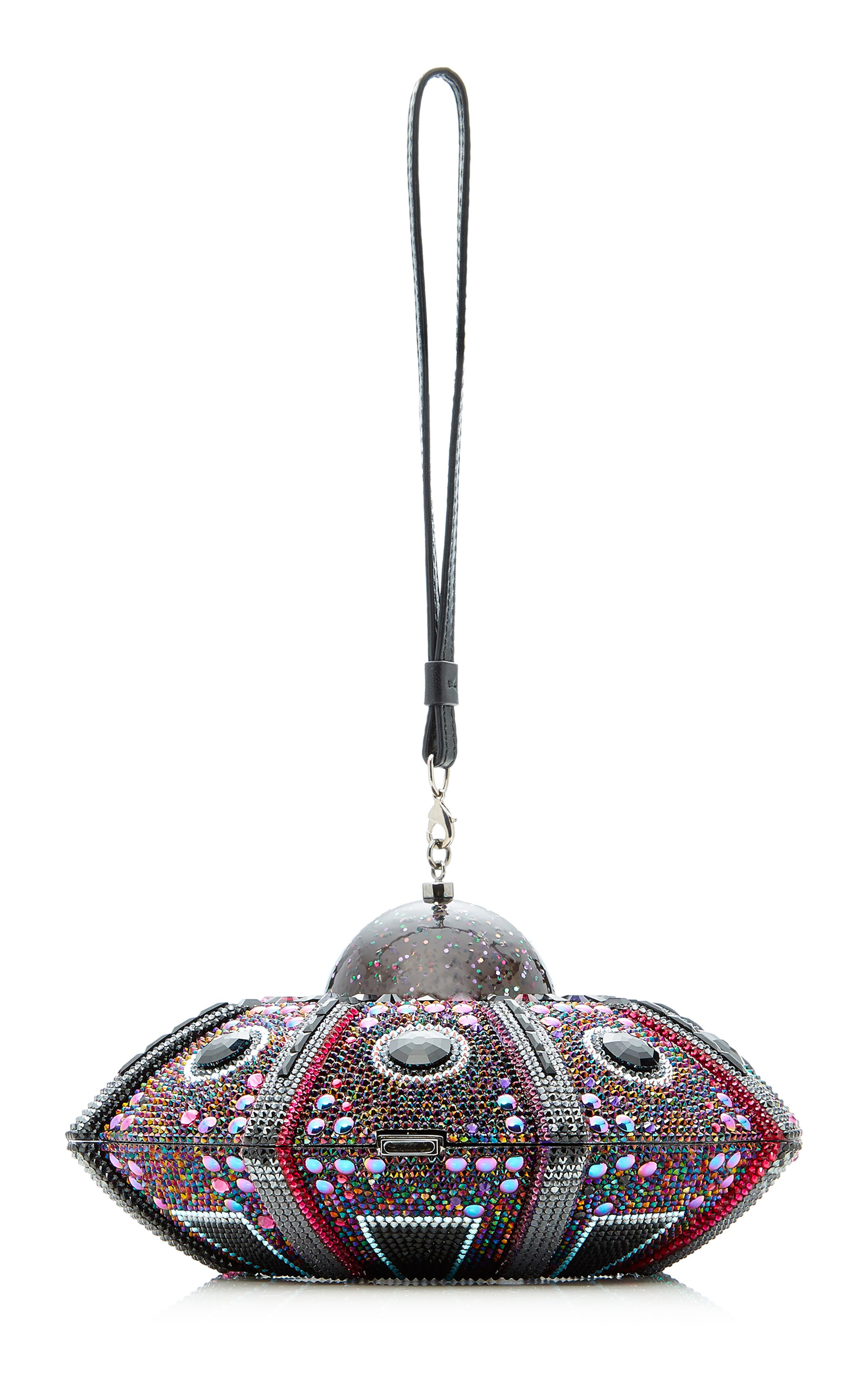 Moda operandi flying saucer clutch with lights by judith leiber loading arubaitofo Images