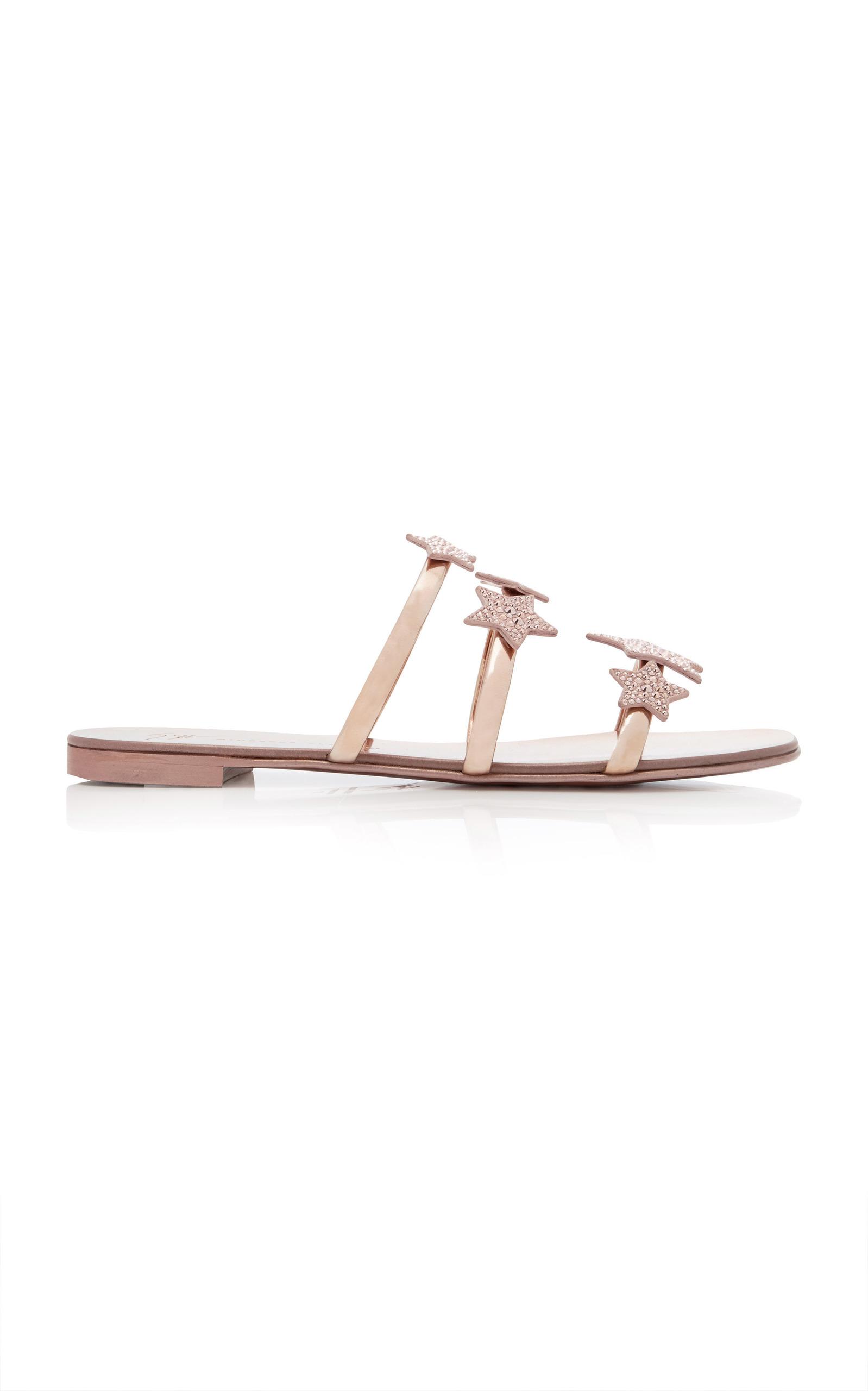59b08bdf5b76df Giuseppe ZanottiShooting Star Embellished Leather Sandals. CLOSE. Loading