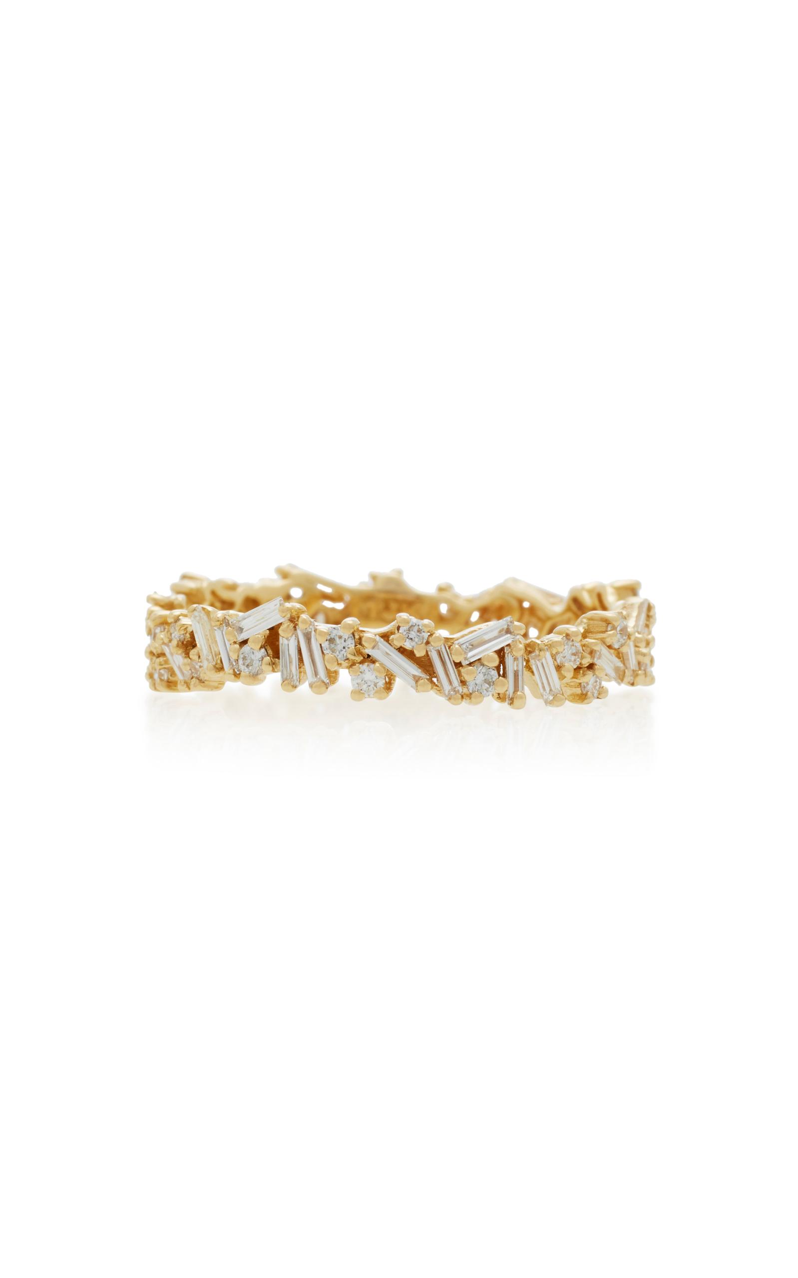 18K Gold Diamond Bracelet Suzanne Kalan 0XNme