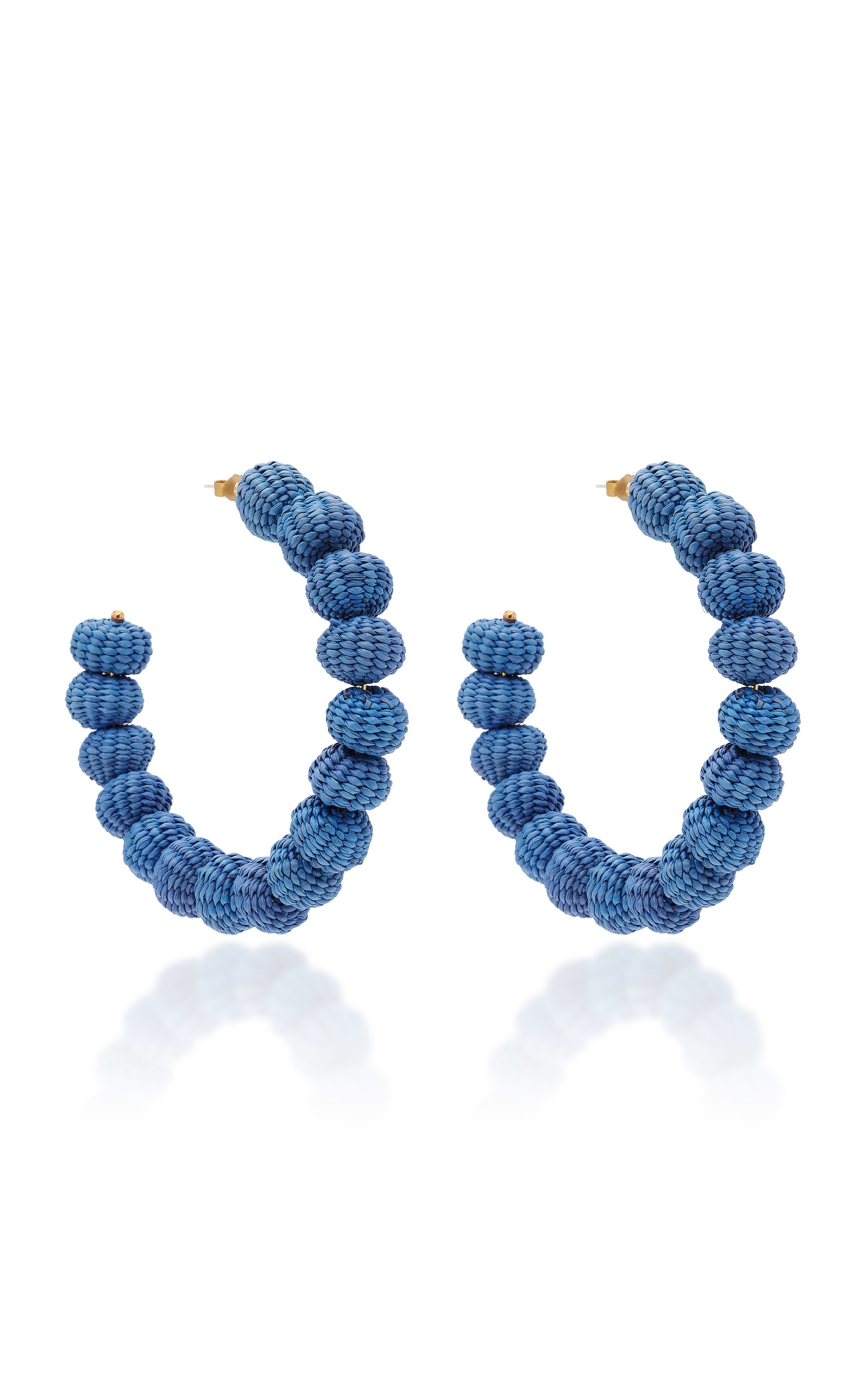 Mercedes Salazar BLUE HOOPS