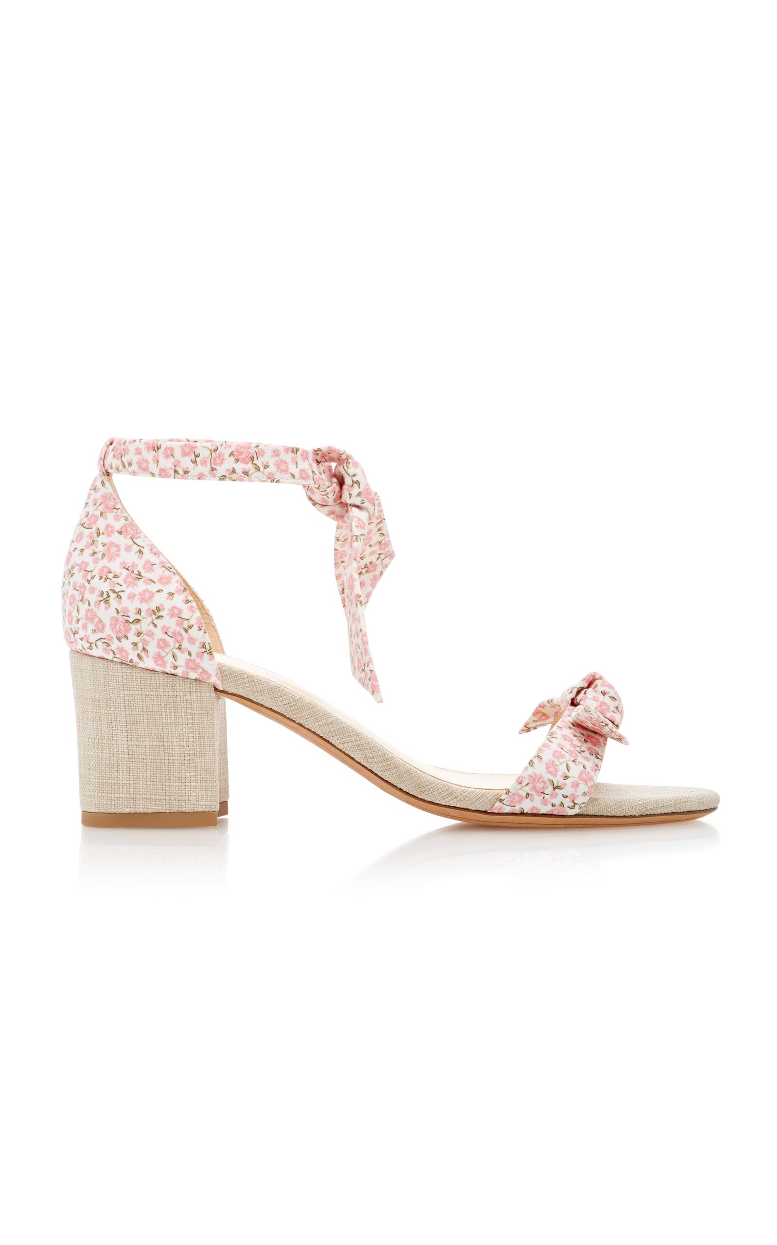 Clarita suede and canvas sandals Alexandre Birman Y7VpM