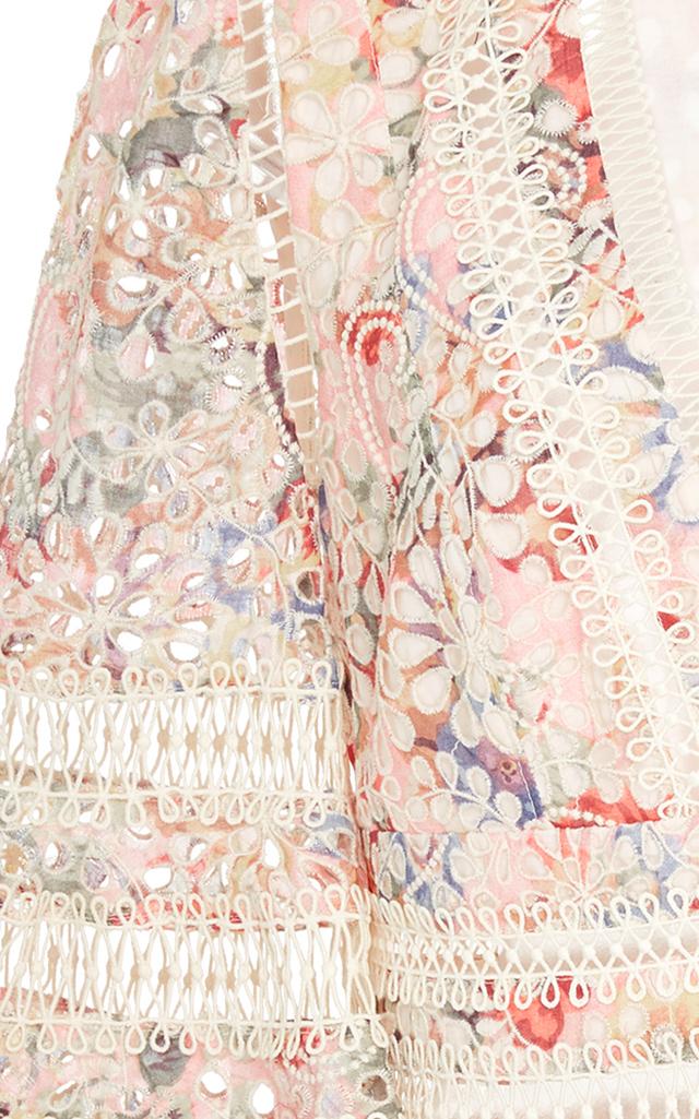 Lovelorn Floral Flutter Cotton Dress by Zimmermann | Moda Operandi