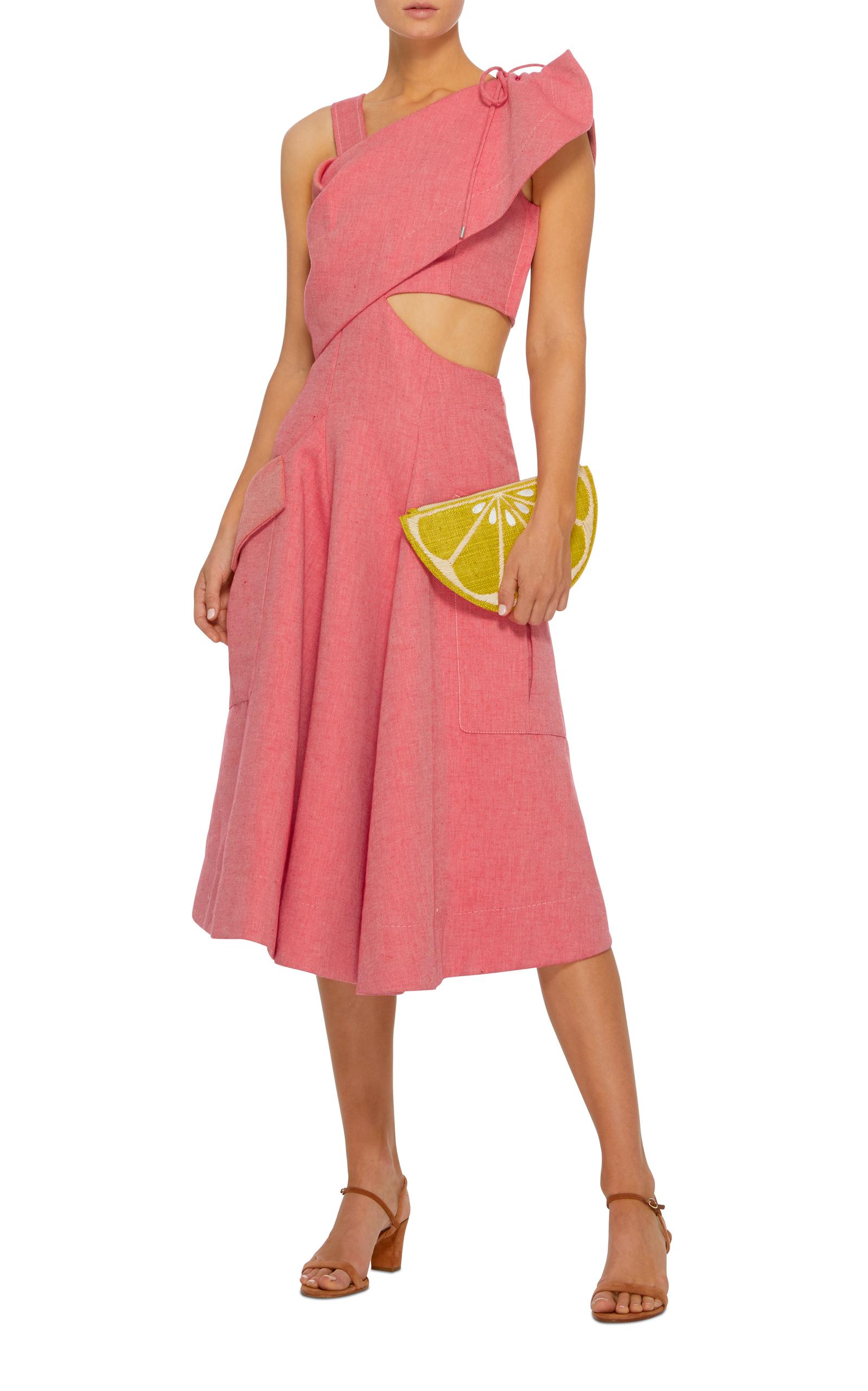 Asymmetric Midi Dress by Carven | Moda Operandi