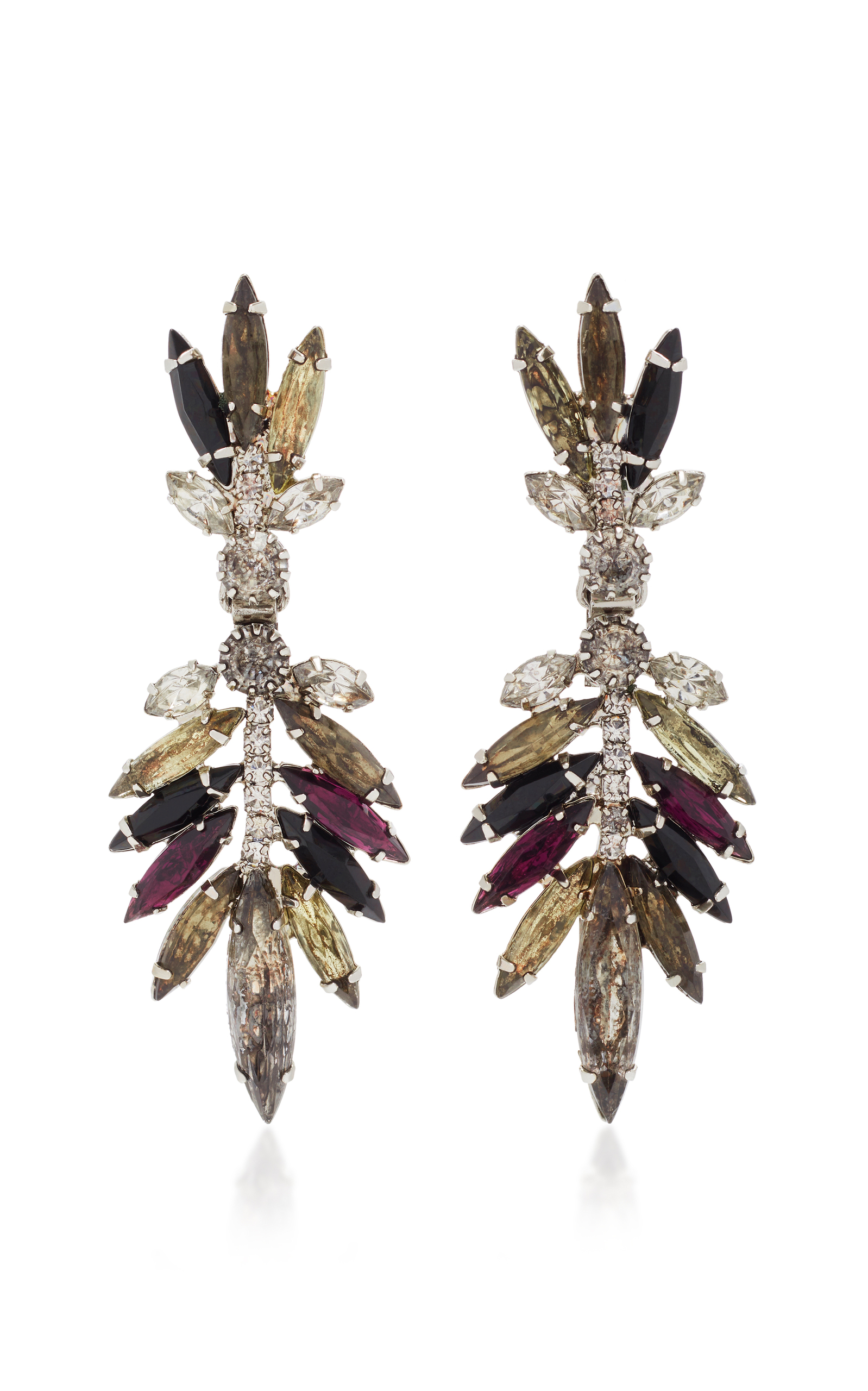 jewelry anne sale zoom colored klein drop multi crystal multicolored earrings