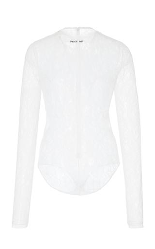 e46c0a32b4e0 GivenchyLong Sleeve Lace Bodysuit