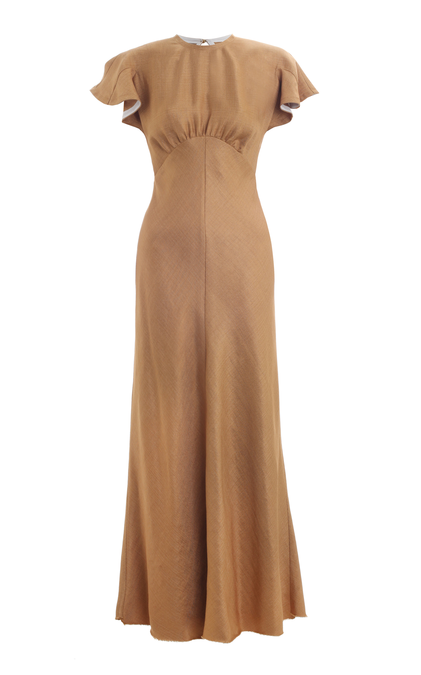 Zimmermann Woman Striped Stretch-jersey Midi Dress Light Brown Size 3 Zimmermann xli0t1SlYJ