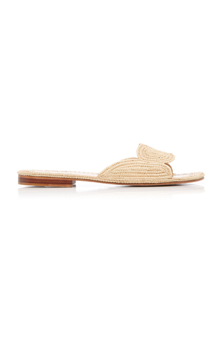 25dd237d90ca Naima Raffia Slides by Carrie Forbes