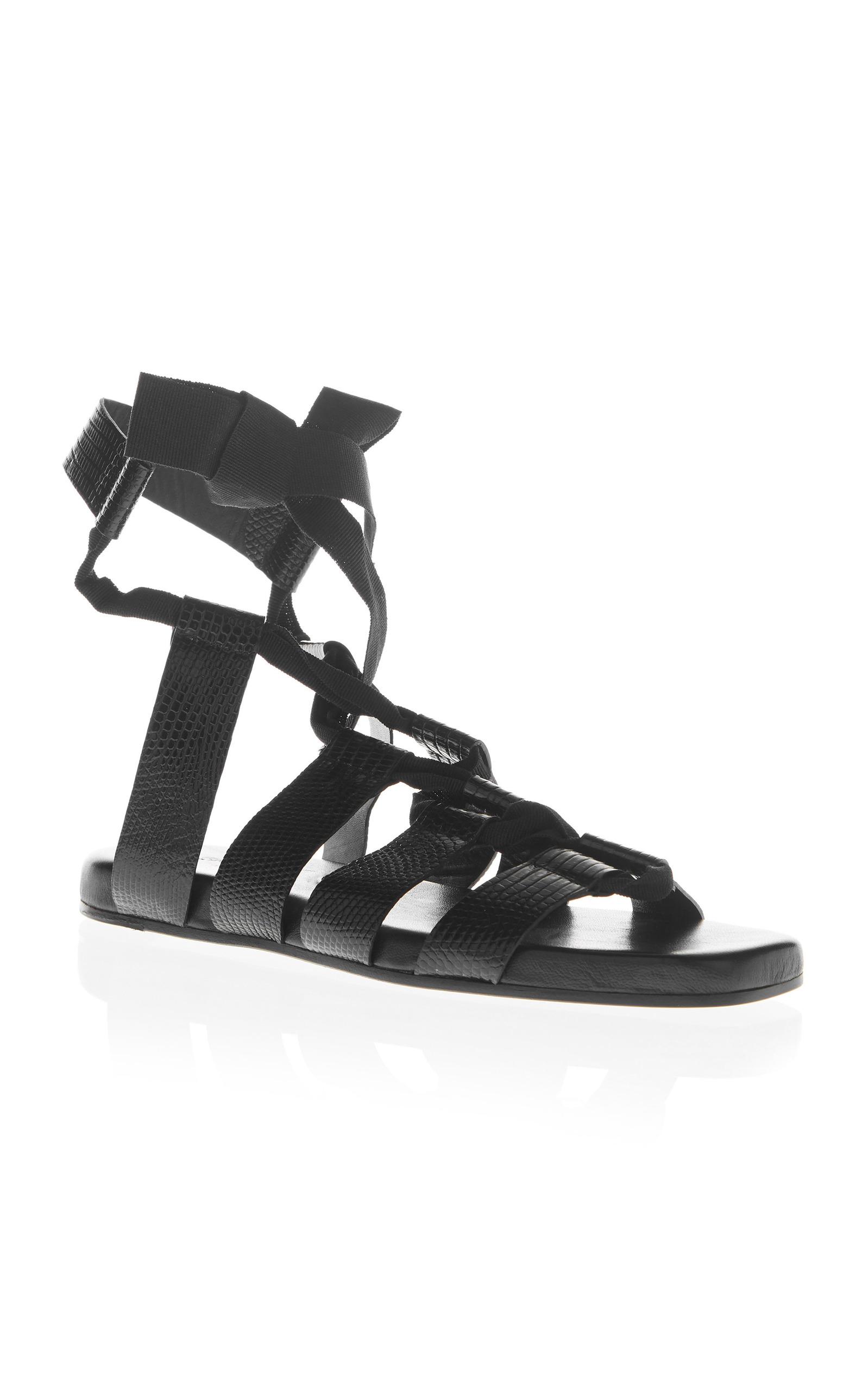Jil Sander Lace up sandals Online Get New New Arrival Buy Cheap Discounts eKyuk0P3tW