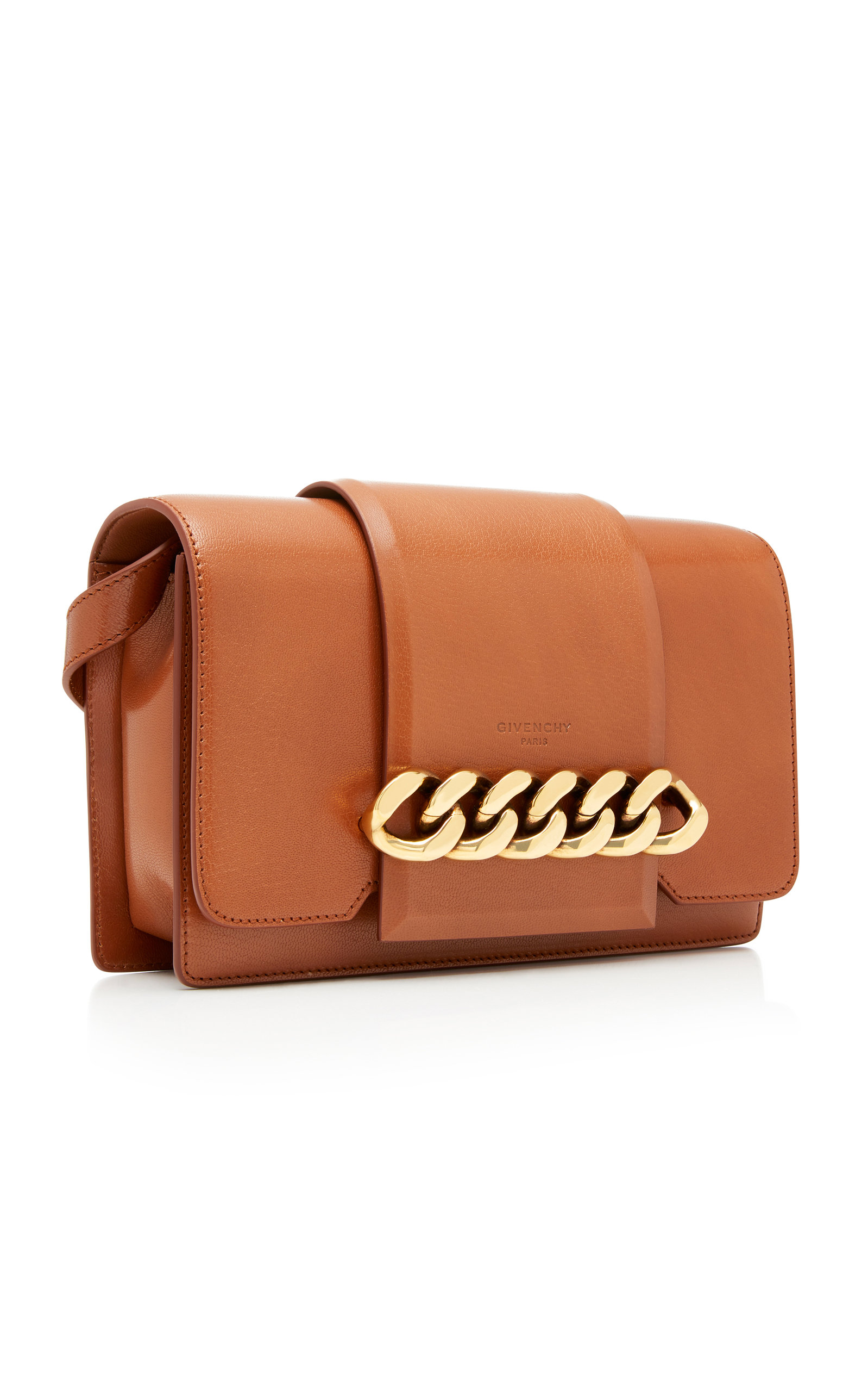 5e9b7483d594 GivenchyInfinity Chain-Trimmed Leather Shoulder Bag. CLOSE. Loading.  Loading. Loading