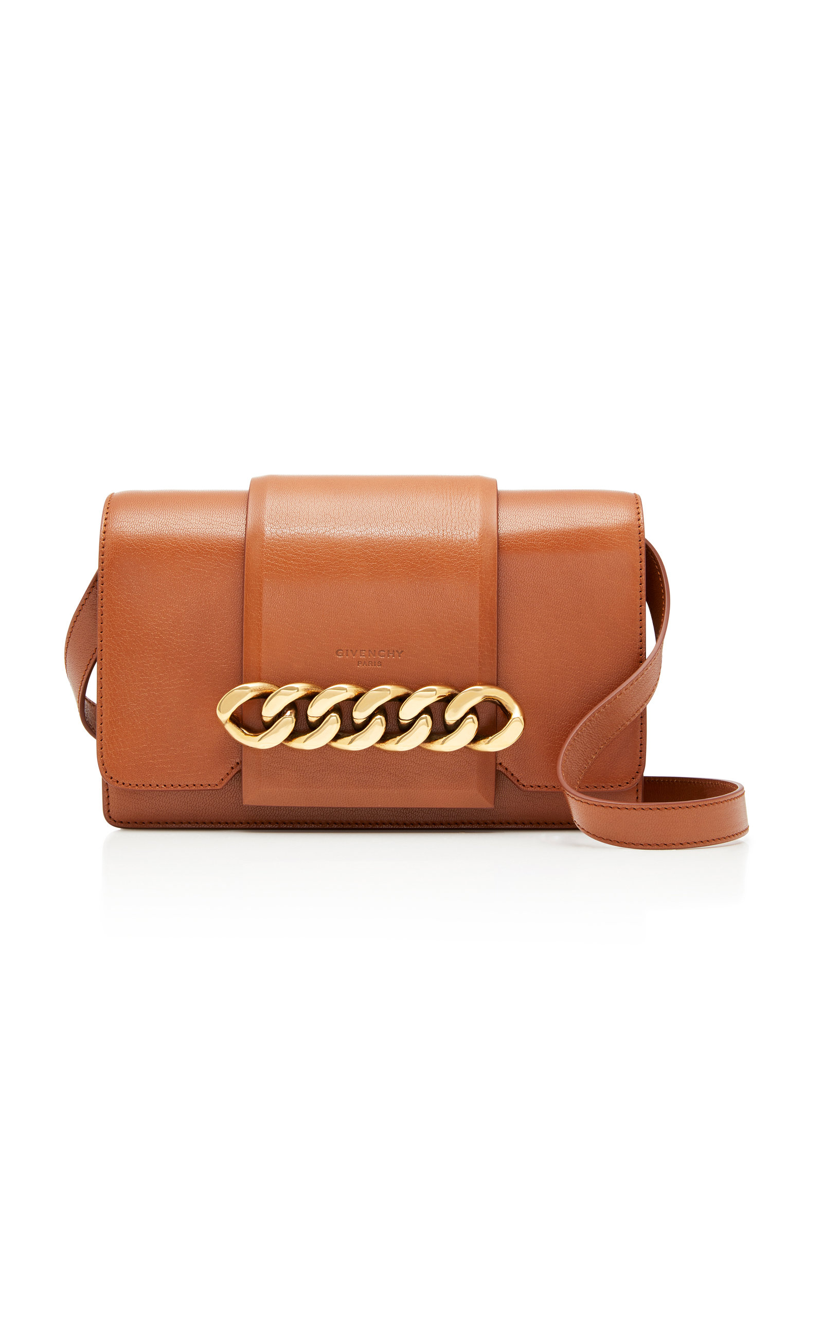 9e2ea8decb28 GivenchyInfinity Chain-Trimmed Leather Shoulder Bag. CLOSE. Loading
