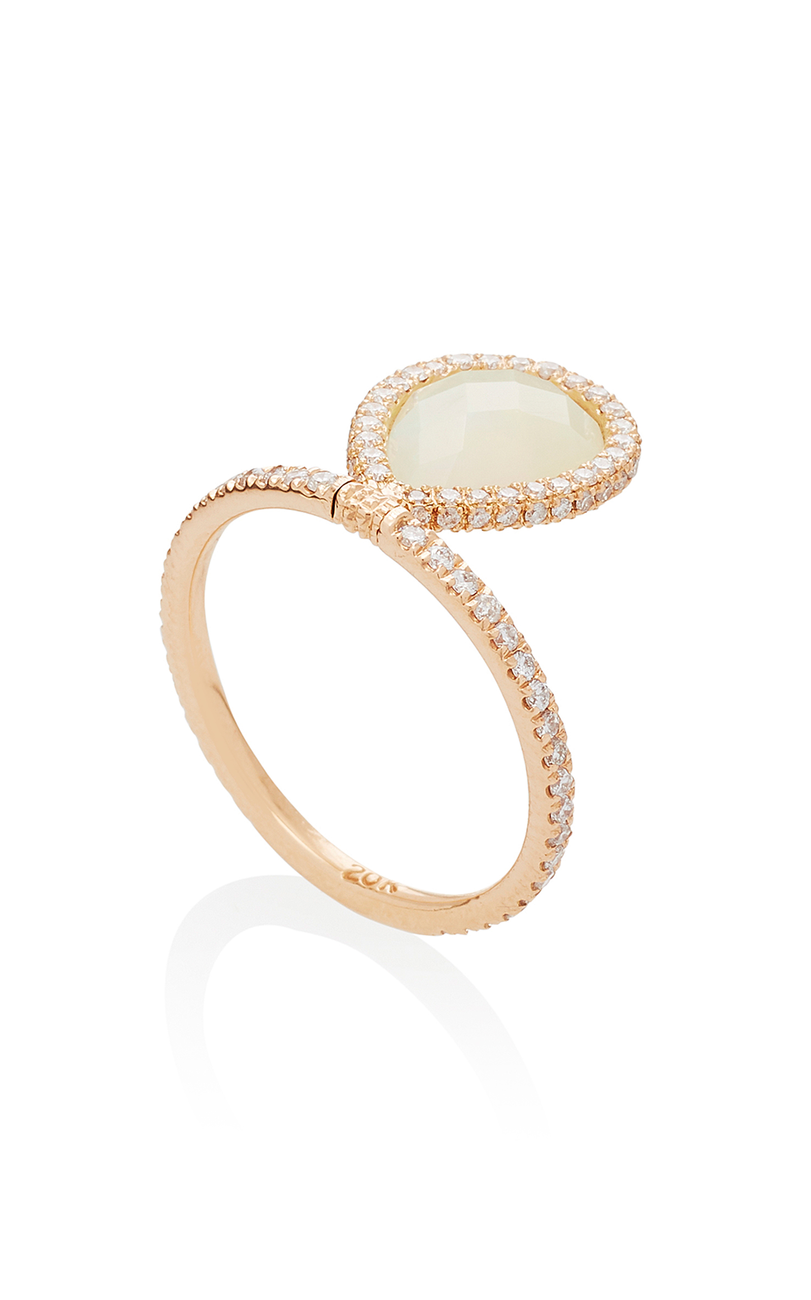 boutique en ring small crystal rings gold prsteni dorne phantasya