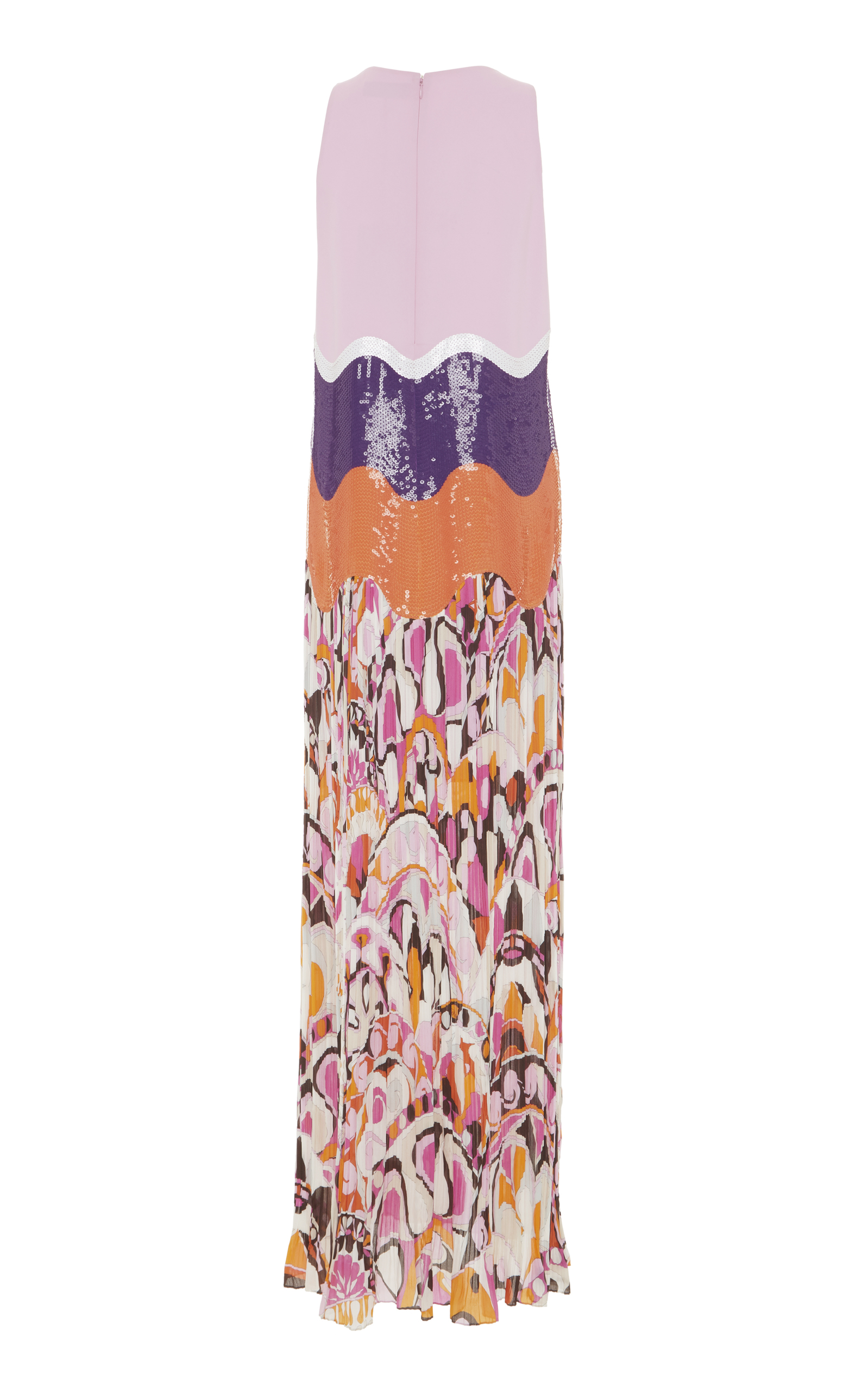 Sequin Embroidered Full Length Dress Emilio Pucci Gt35E