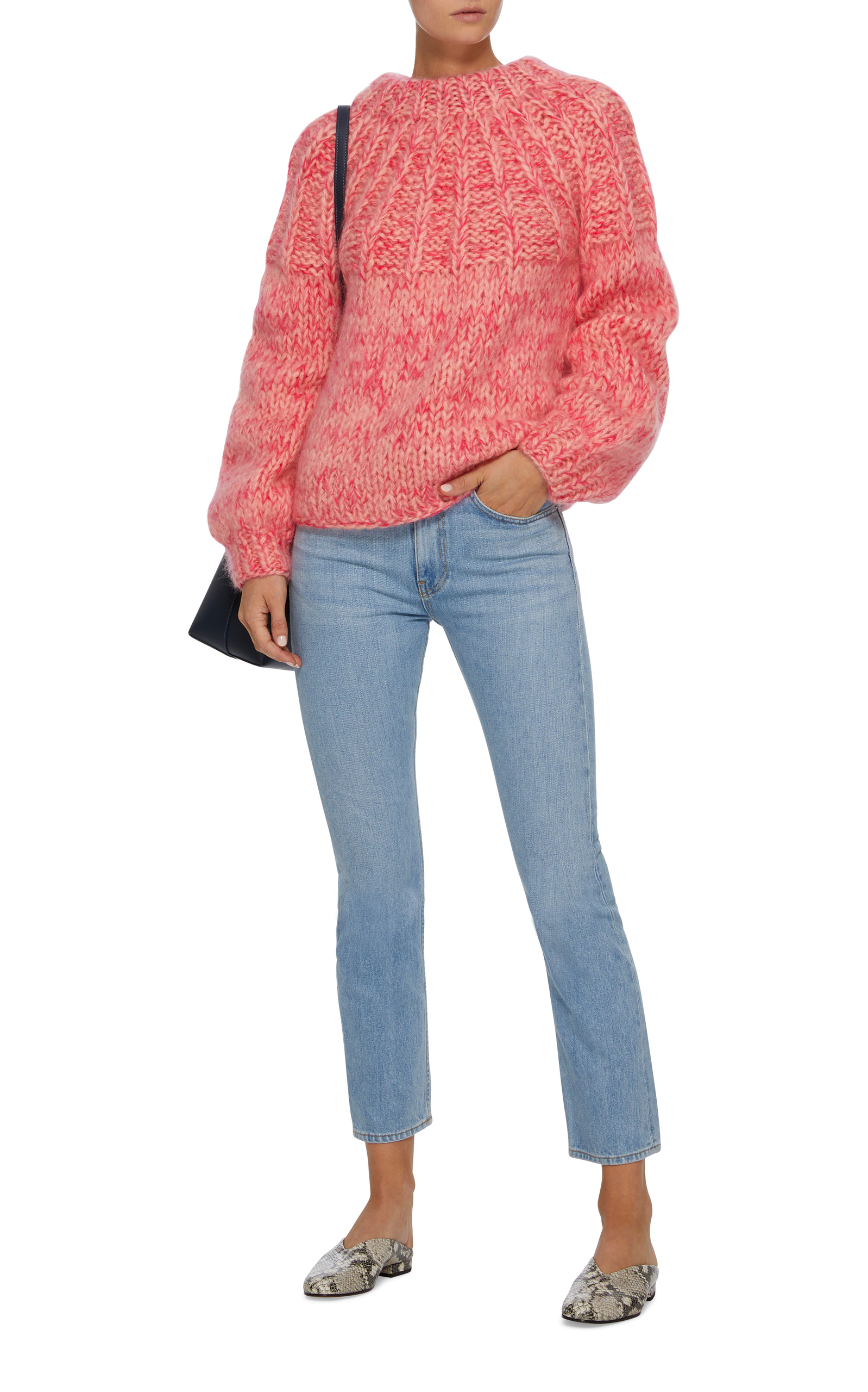 b188323274 The Julliard Mohair and Wool-Blend Sweater by Ganni | Moda Operandi