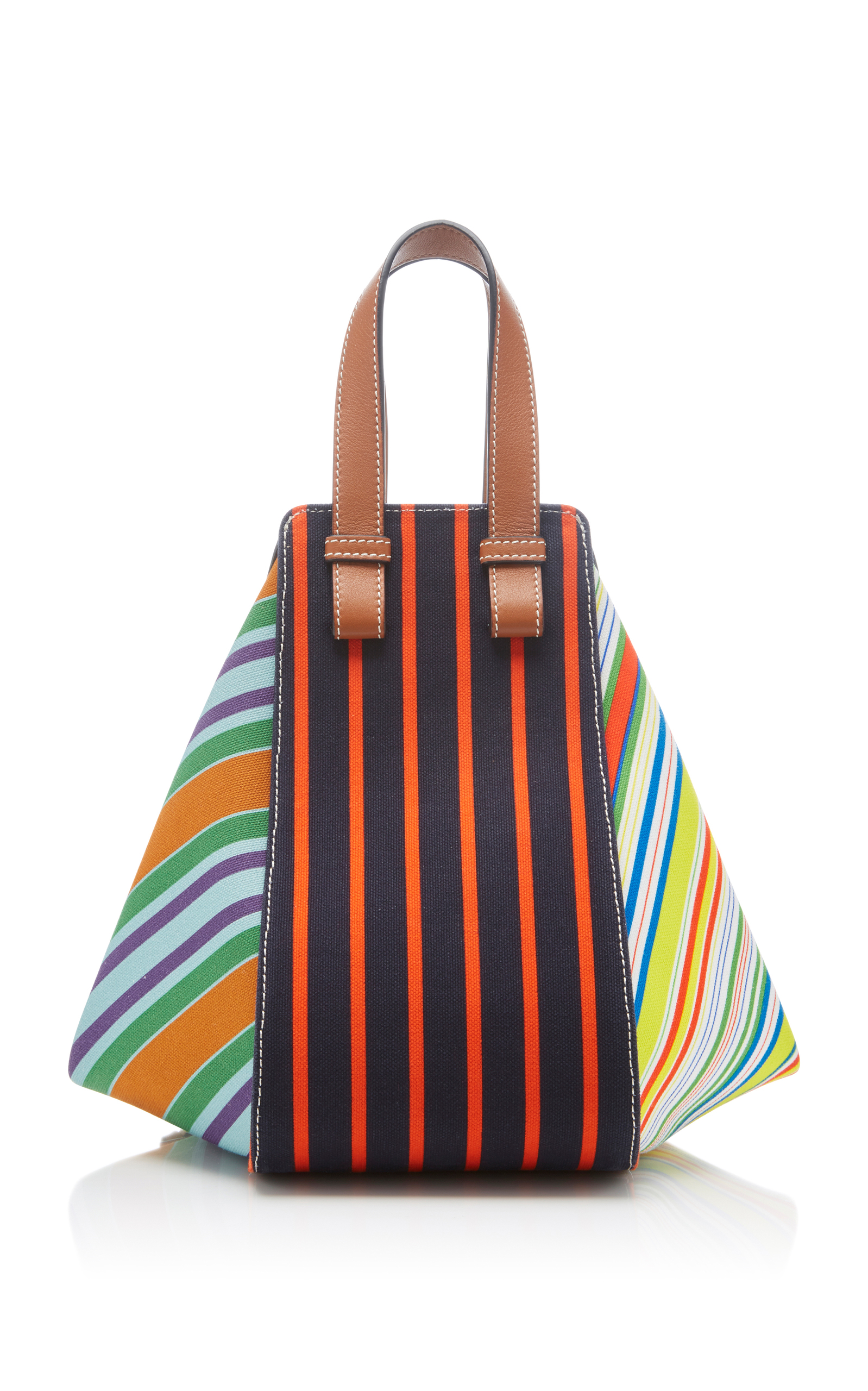 Hammock Canvas And Calf Leather Bag By Loewe Moda Operandi