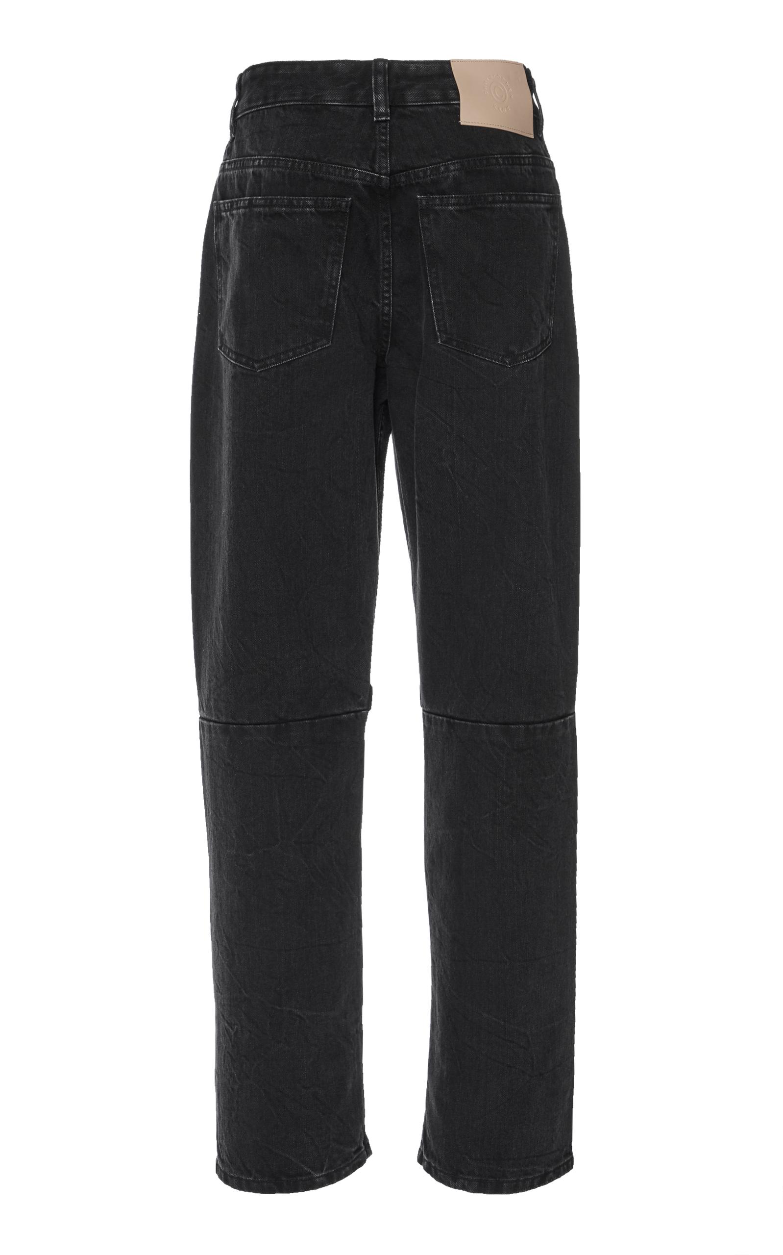 Boyfriend velcro jeans - Black Christopher Kane 3Anma6N