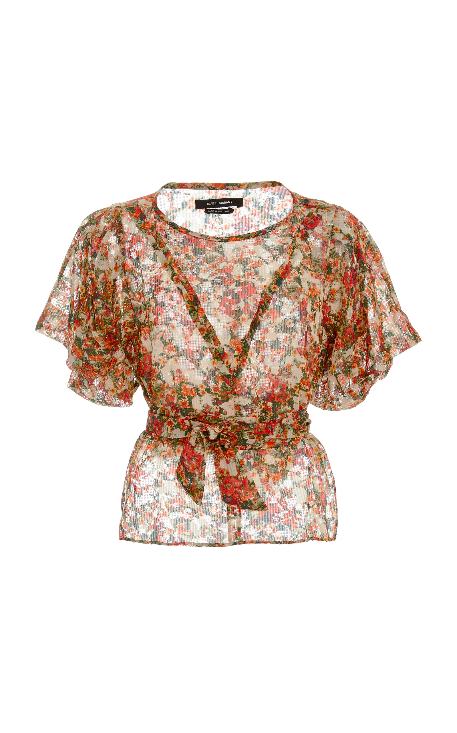 Clearance For Cheap Deals Sale Online fleming silk top Isabel Marant Ebay For Sale Discount Brand New Unisex GtCIpm9Kit