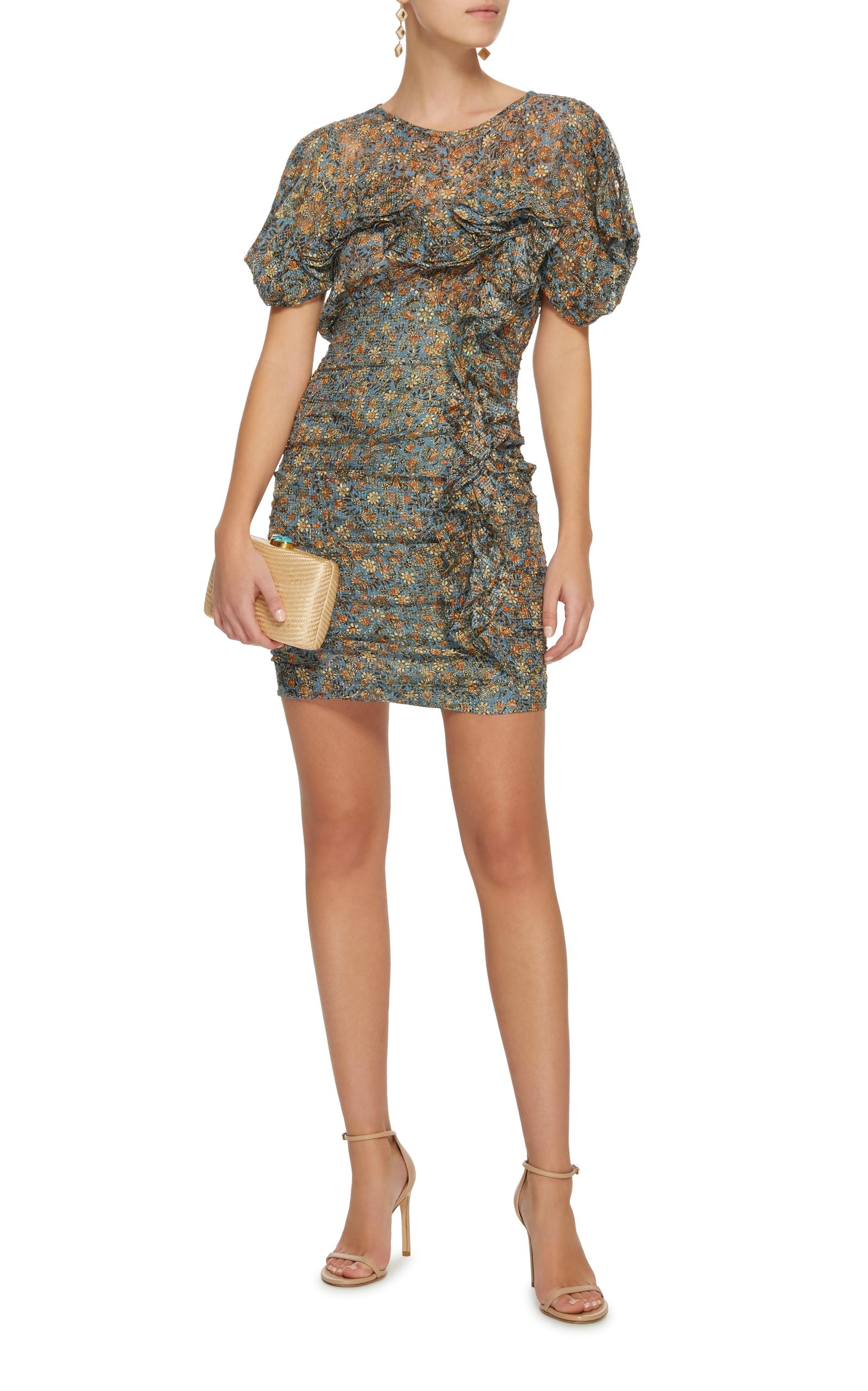 Face Ruffled Sheath Mini Dress Isabel Marant 3XiOemD