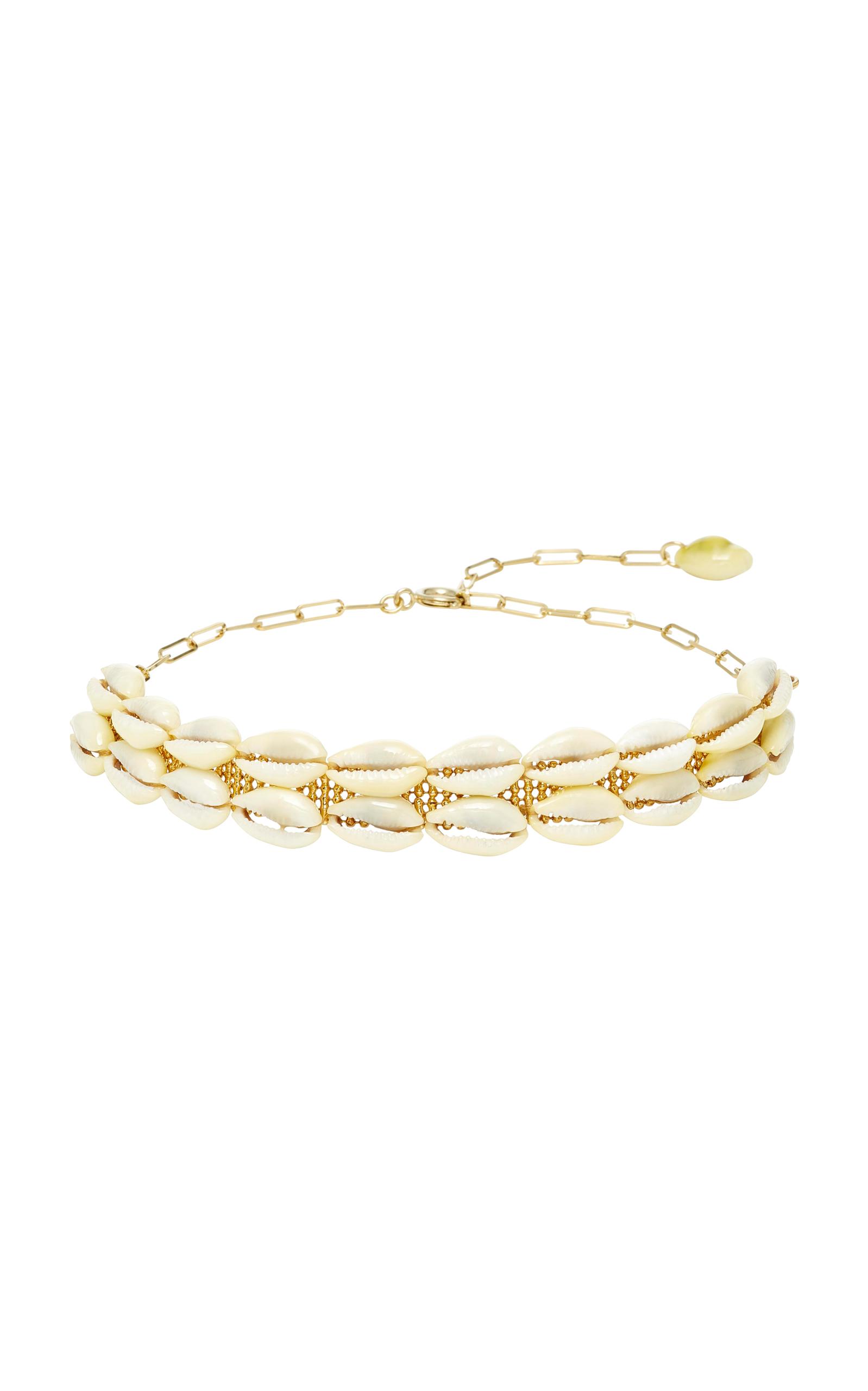 a37ab48b04b Gold-Tone and Shell Necklace by Isabel Marant   Moda Operandi