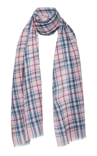 ISABEL MARANT | Isabel Marant Valeria Checked Wool Scarf | Goxip