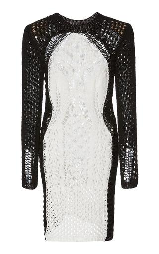 Crochet Mini Dress By Balmain Moda Operandi