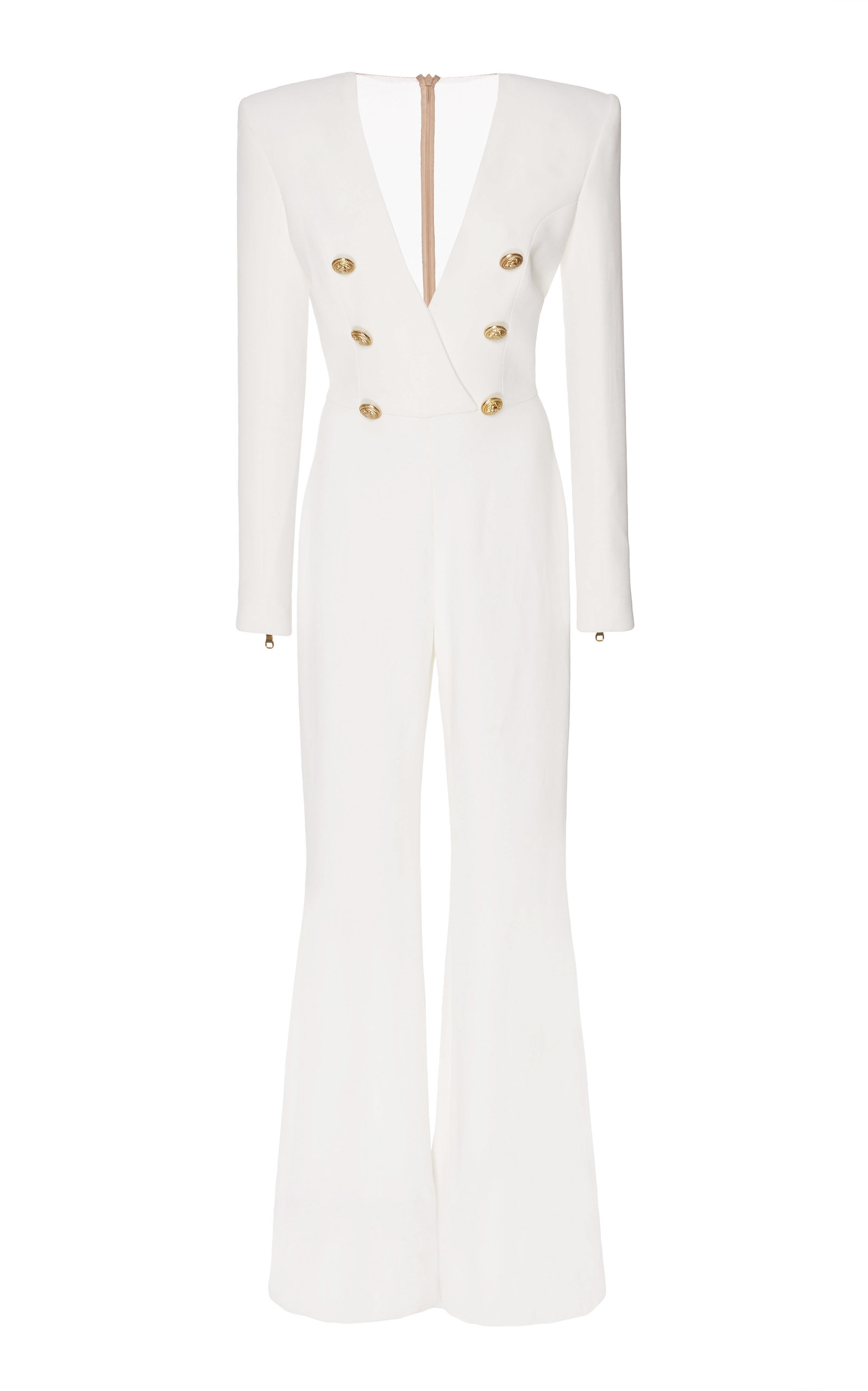 a4b1cacc59b Button Front Jumpsuit by Balmain