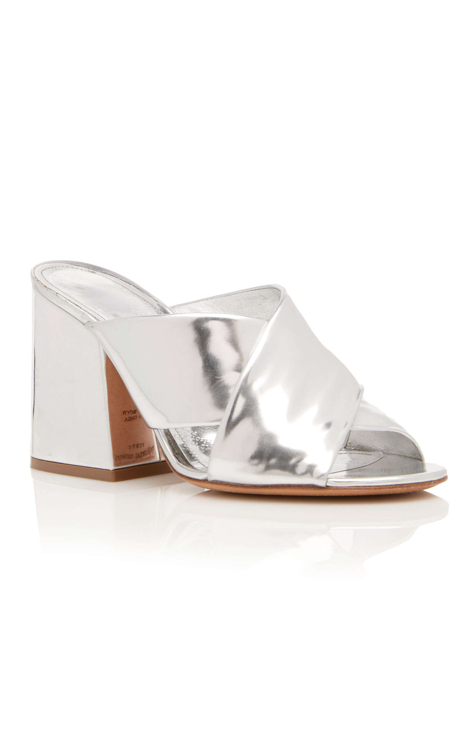 Maison Margiela Mules in Metallics.