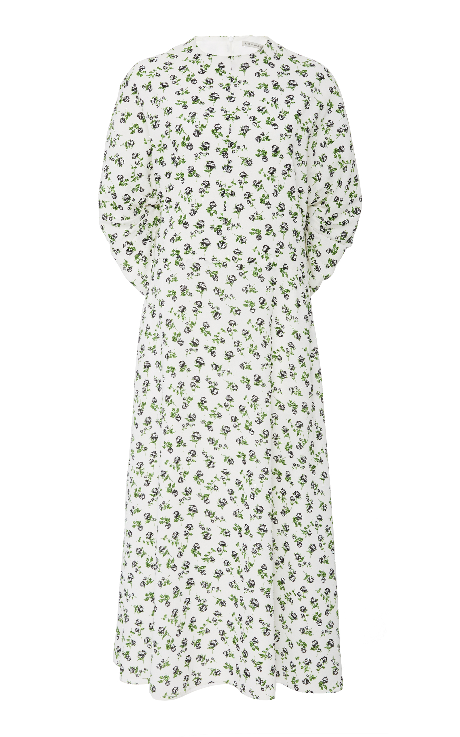 Carmen Floral-Print Dress Emilia Wickstead 64fTq