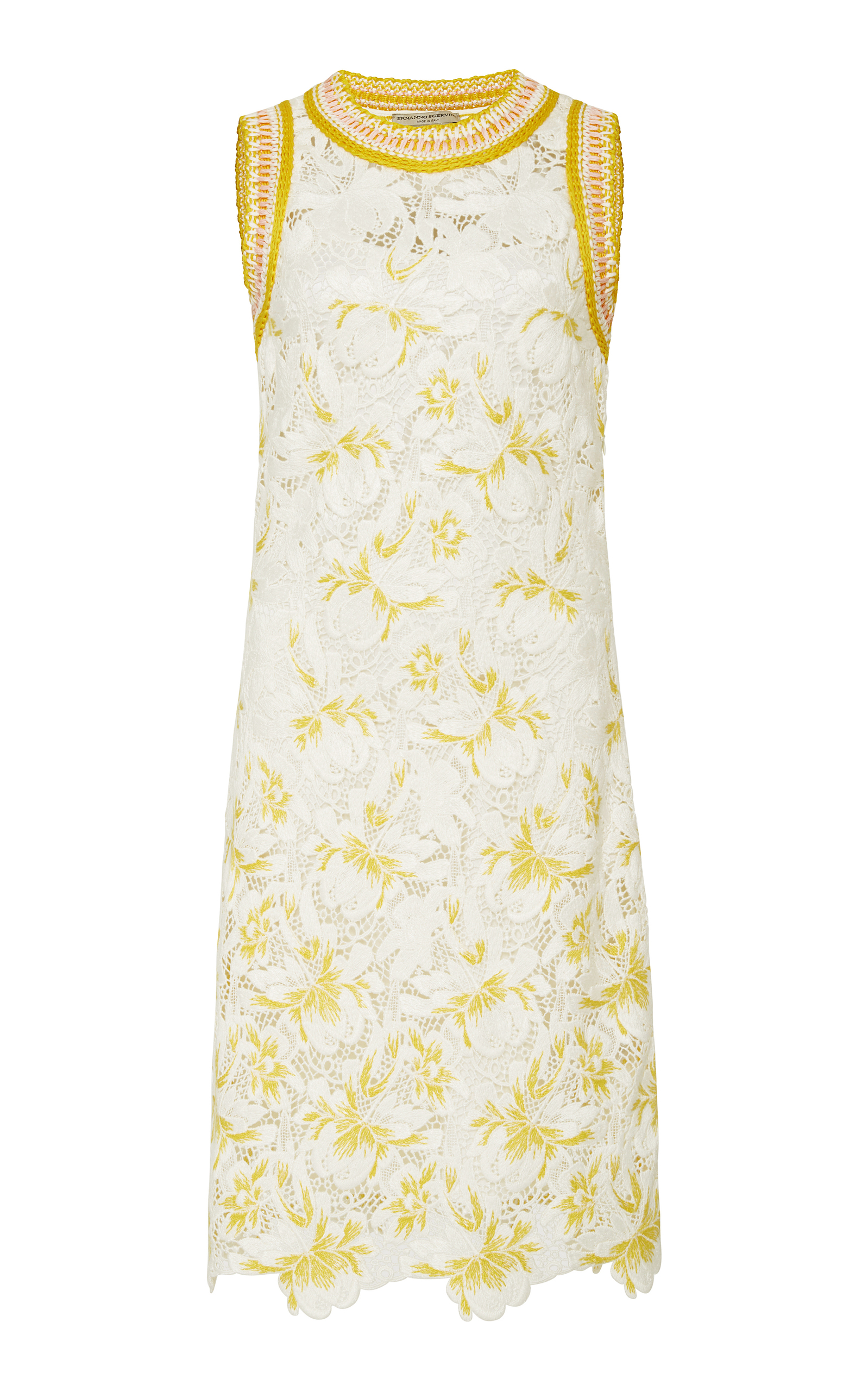 addac9267d Ermanno ScervinoEmbroidered Lace Shift Dress. CLOSE. Loading