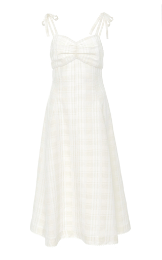 Jana Cutout Midi Dress Saloni Visit Cheap Online Outlet Low Shipping Fee Best Wholesale f0G2Q