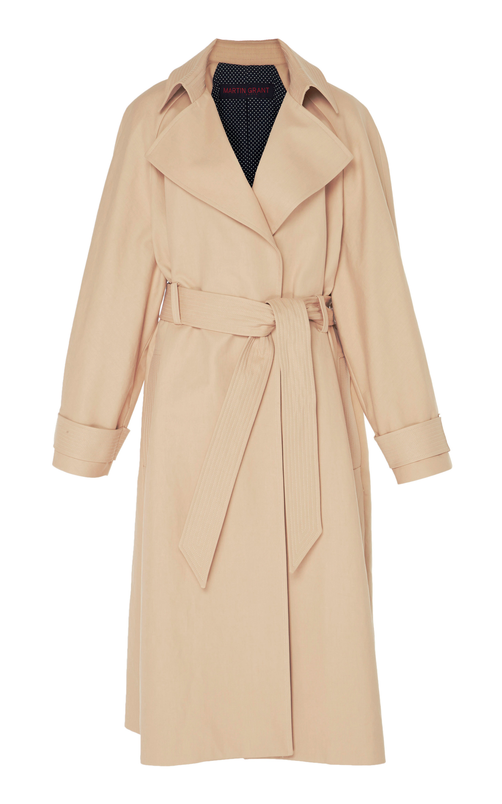 STITCHED TRENCH COAT