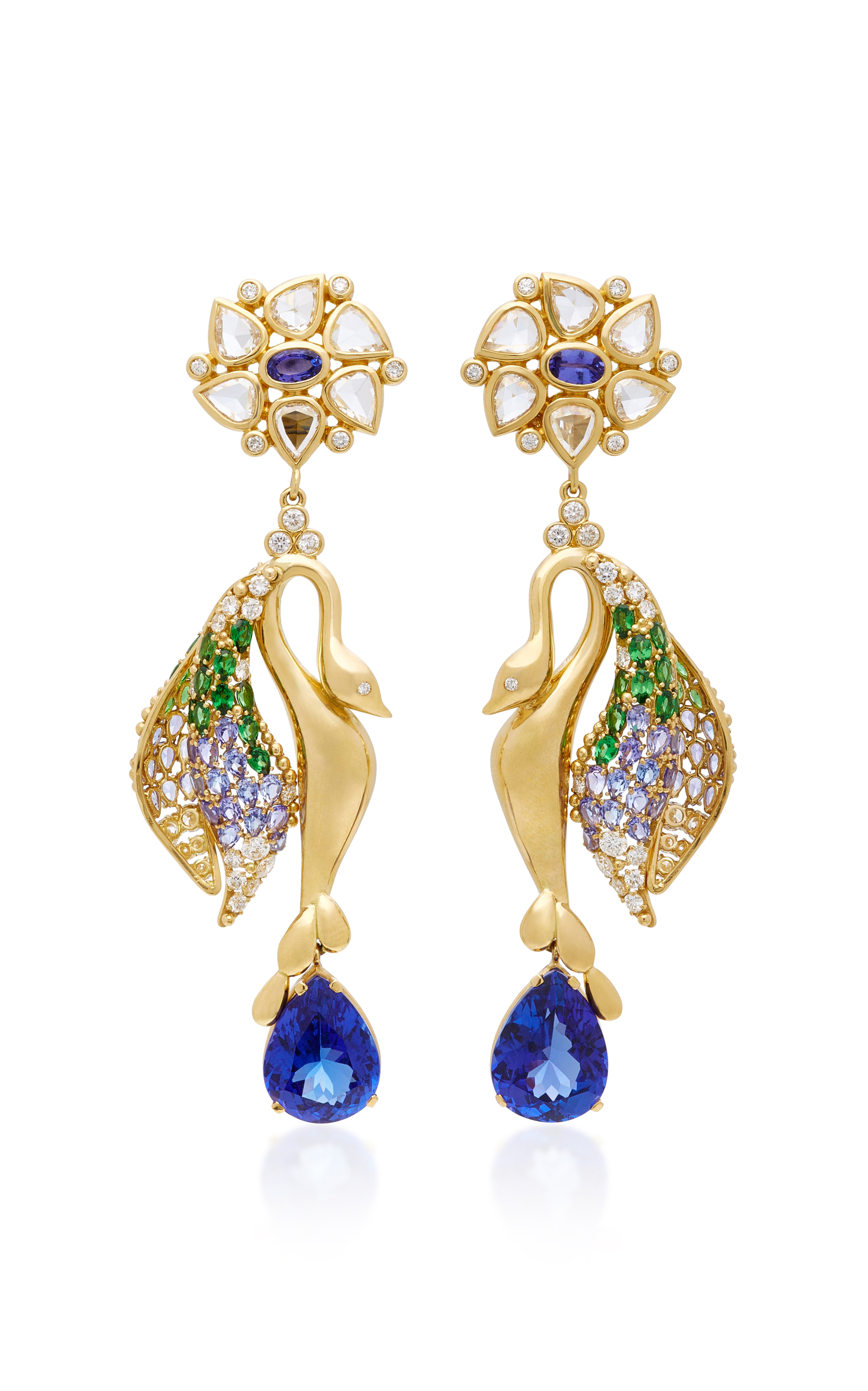 Fantasy Bird Earrings