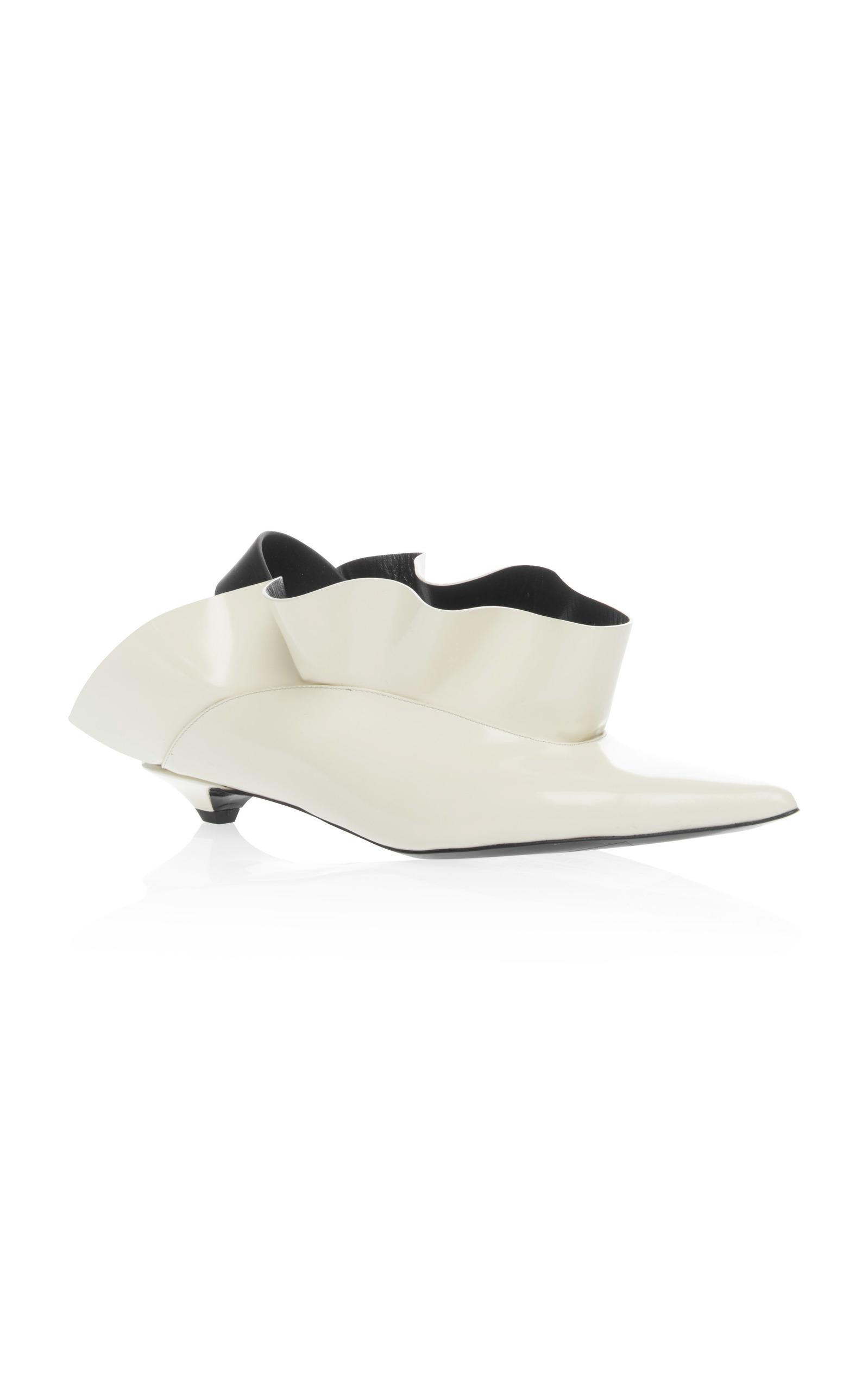 White Mule Kitten Heels Proenza Schouler tssk7P