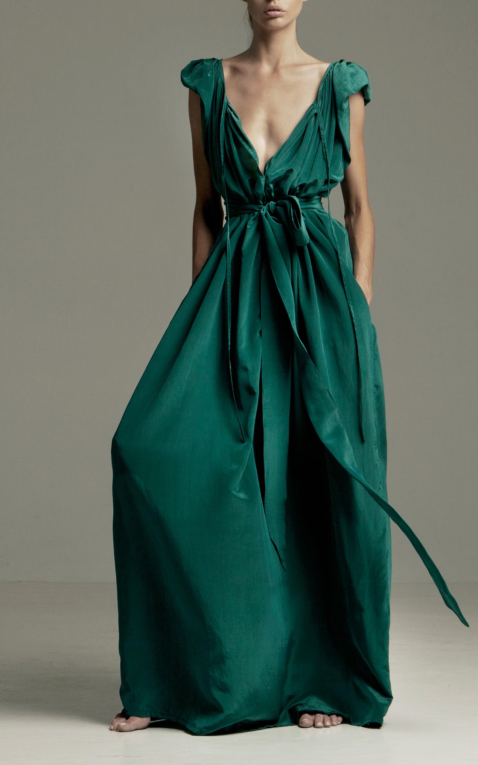 Andromeda Nights silk-blend dress Kalita ajrZnSd6