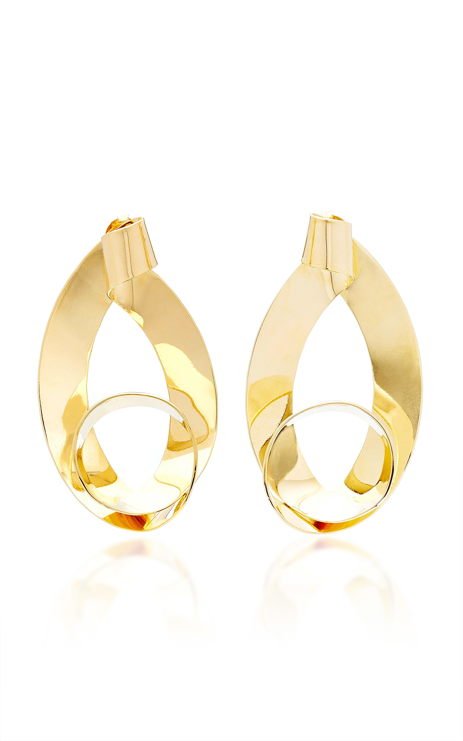 Max 24K Gold-Plated Earrings Bia Daidone PrM14j
