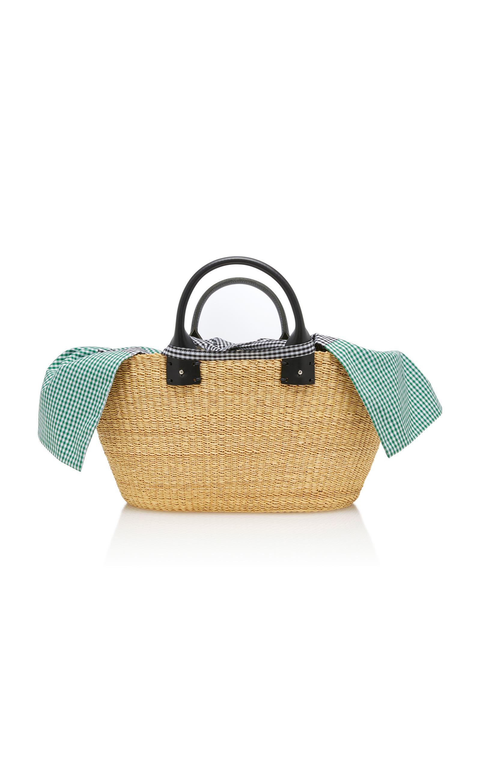 Discounts For Sale Giorgio Vichy Pouch Straw Bag Muuñ Free Shipping Footlocker Finishline wEiK1F