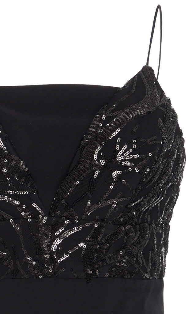 0428ba4a041ad Sequin Bralette Dress by Christian Siriano