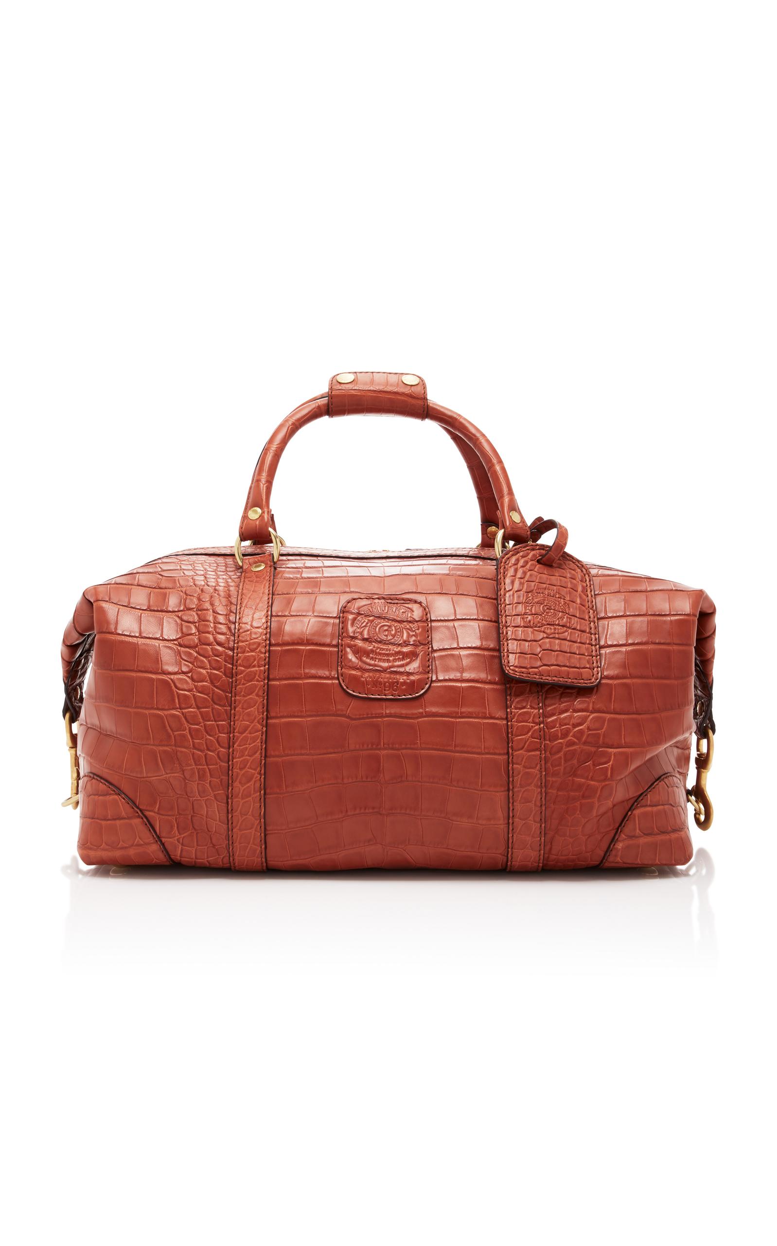 GHURKA | Ghurka Cavalier I Alligator Duffle Bag | Goxip