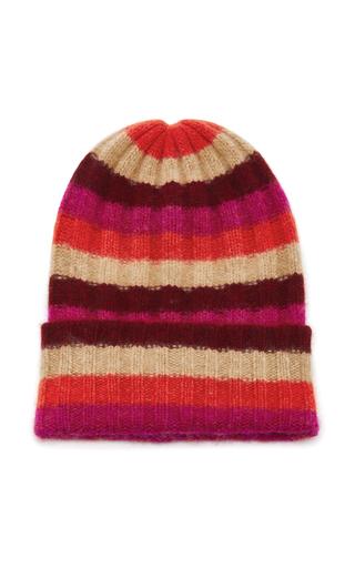 striped beanie - Pink & Purple The Elder Statesman wEAhjM