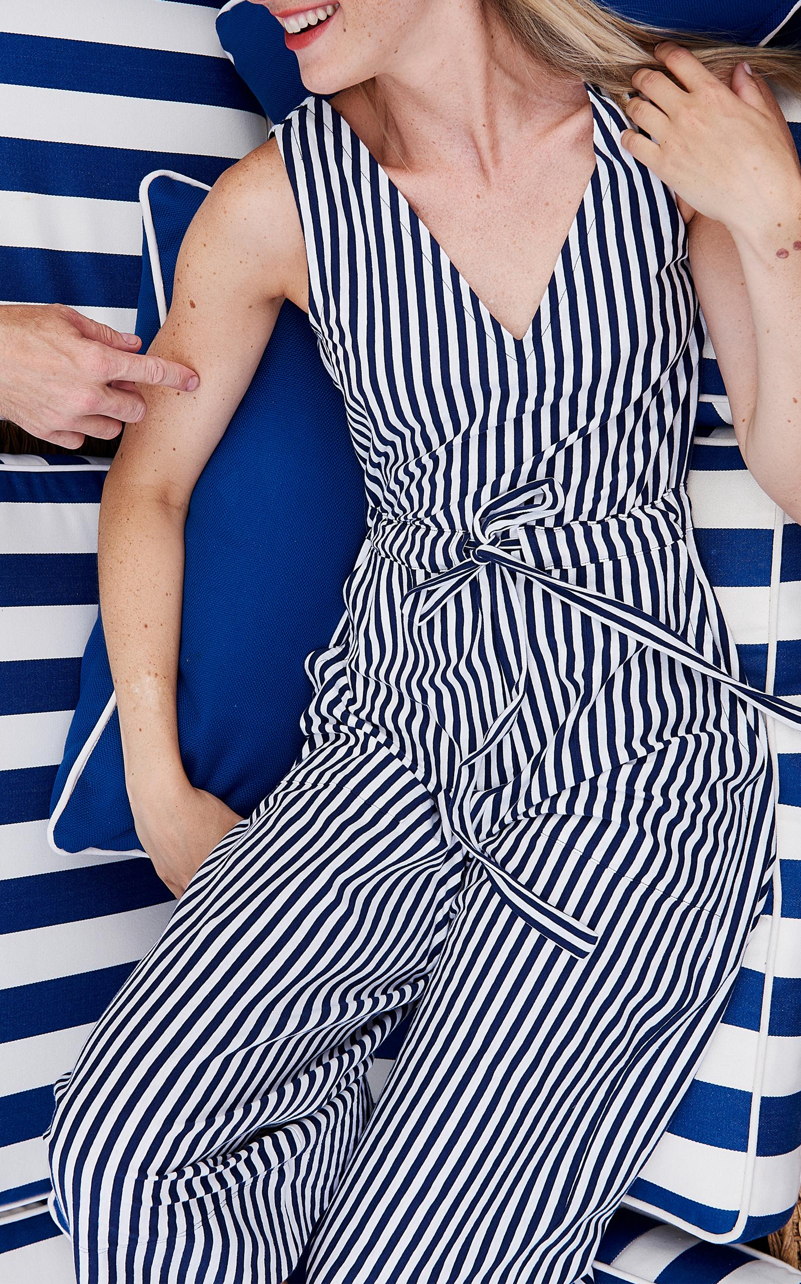 30614f67ada4 Amanda Jumpsuit by MDS Stripes