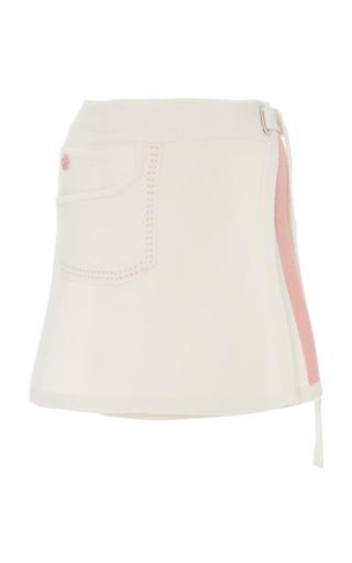 BarrieCashmere Wrap Skirt
