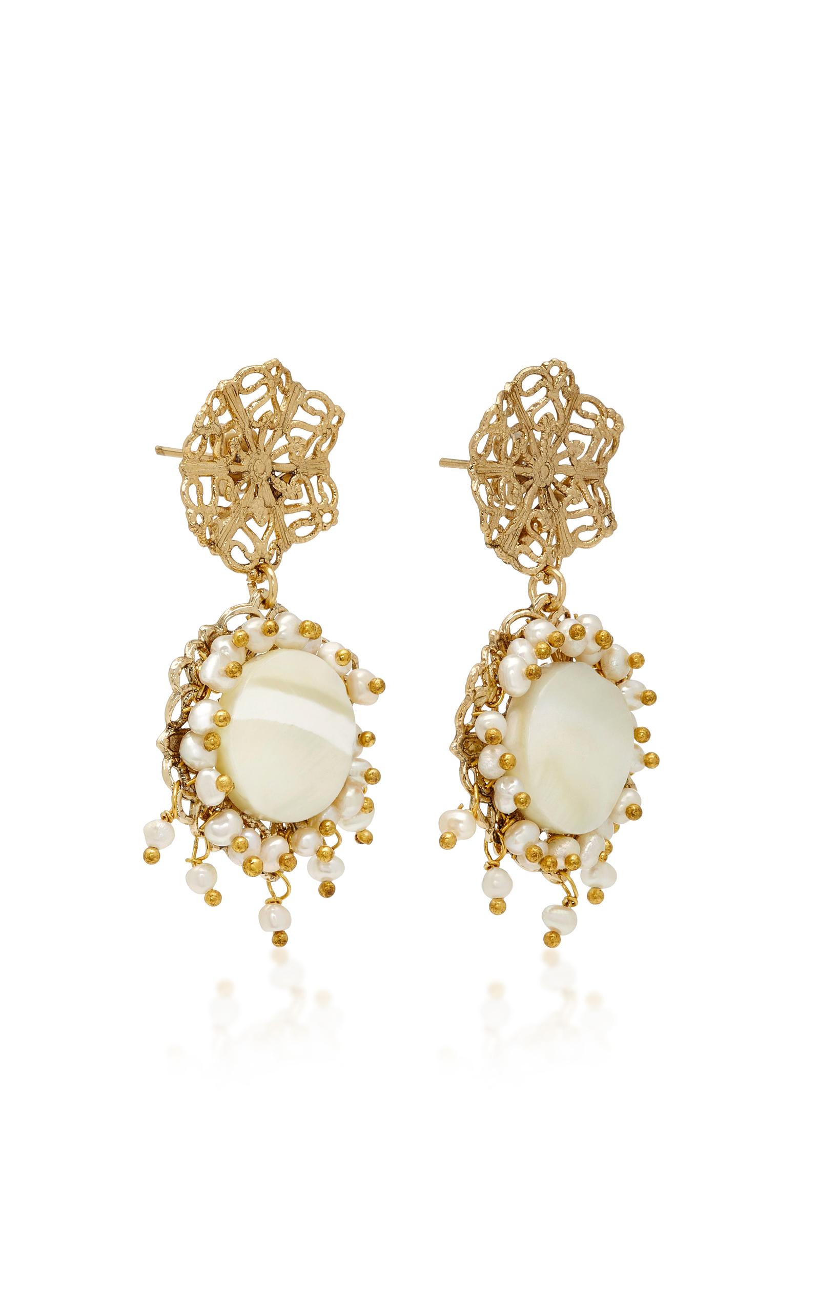 Rosantica Corte earrings with pearl ddnRb